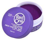 RedOne AQUA HAIR GEL WAX FULL FORCE VIOLETTA Wodny żelowy wosk do włosów ZAPACH JAGODOWY 150 ML