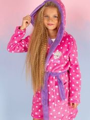 Różowy szlafrok dla dziewczynki FROZEN