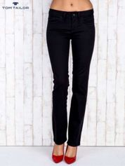 TOM TAILOR Czarne proste spodnie