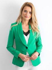 Zielony żakiet Affirmative