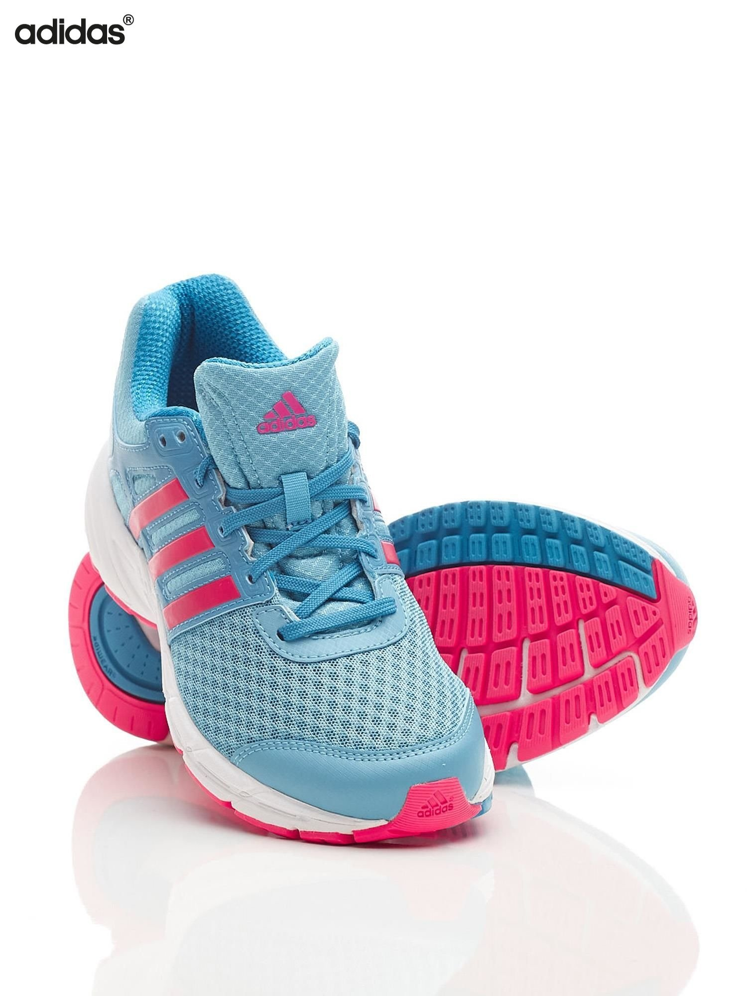 ADIDAS Niebieskie damskie buty sportowe LIGHTSTER 2XJ Popularne