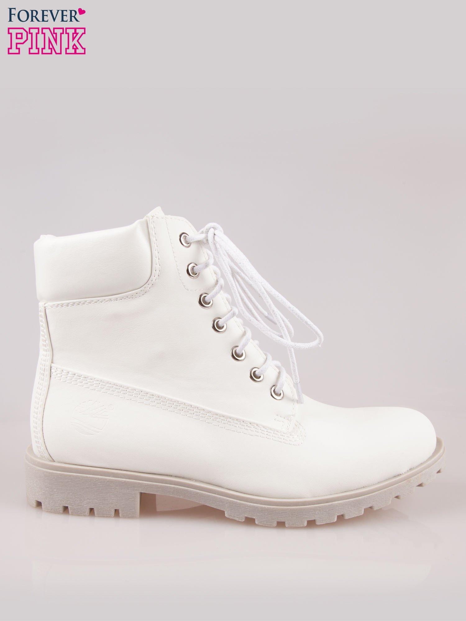 Białe buty trekkingowe damskie                                  zdj.                                  1