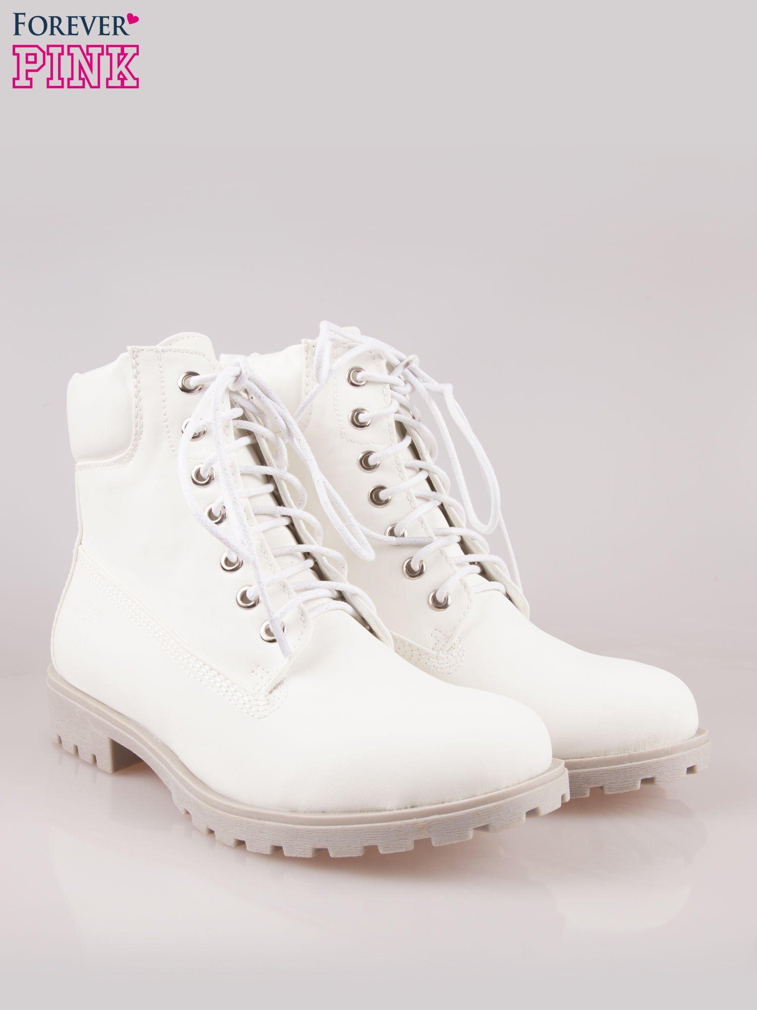 Białe buty trekkingowe damskie                                  zdj.                                  2