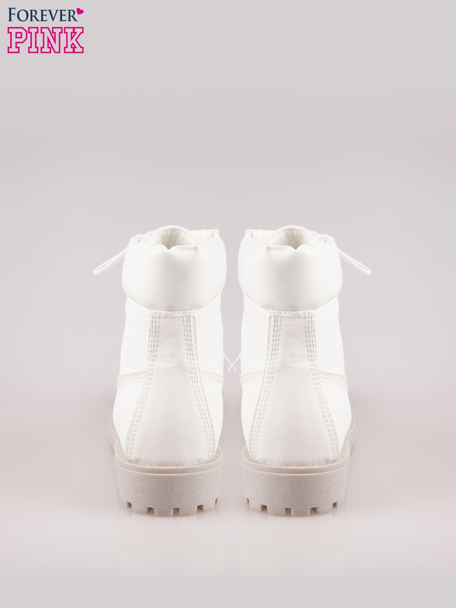 Białe buty trekkingowe damskie                                  zdj.                                  3