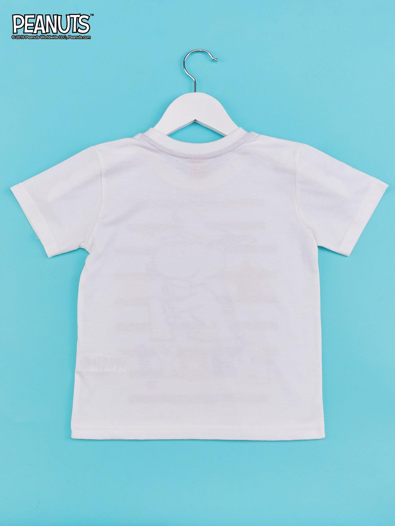 Biało-szary t-shirt chłopięcy FISTASZKI                                  zdj.                                  2