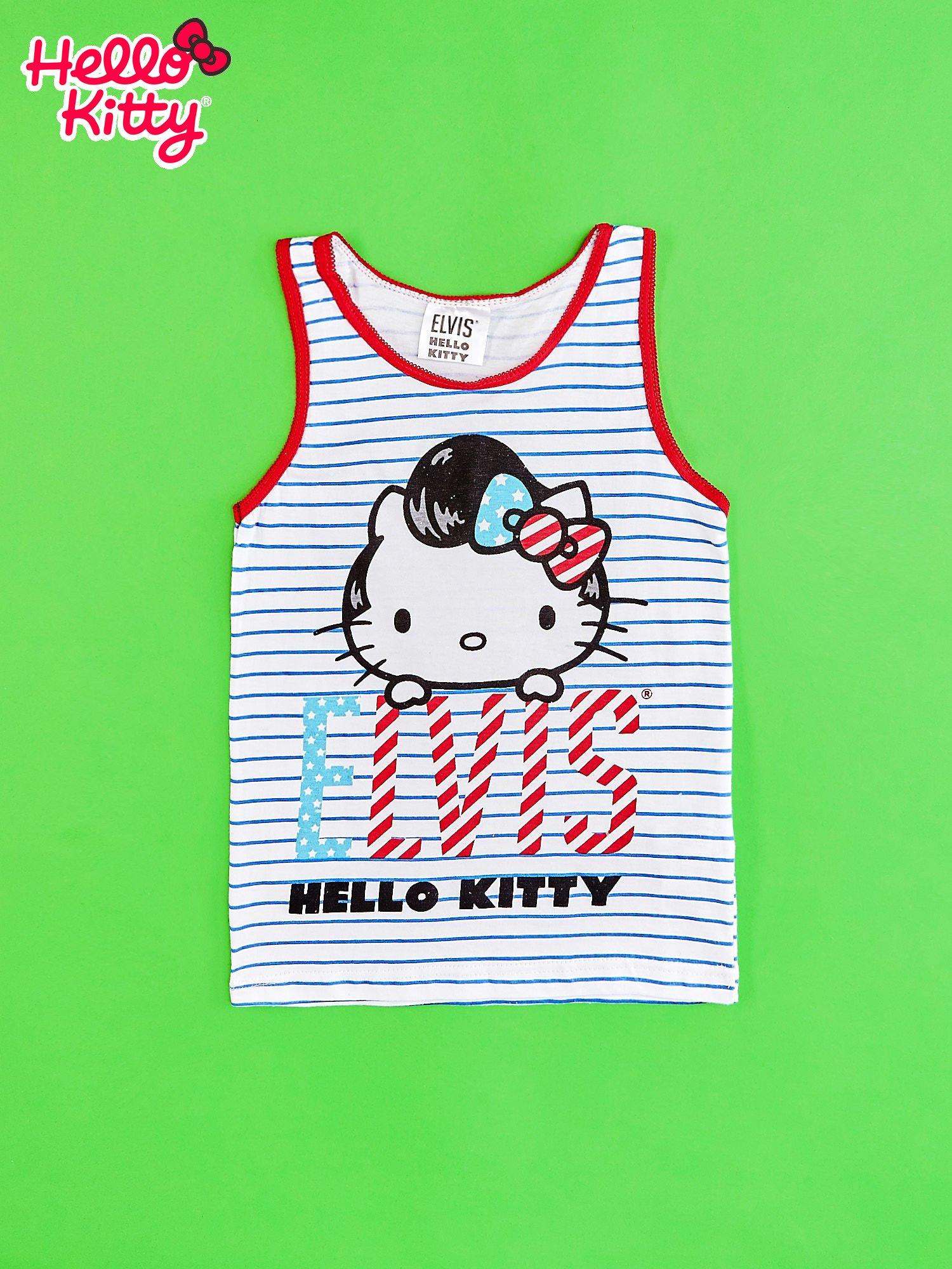 Biały komplet do spania dla dziewczynki ELVIS HELLO KITTY                                  zdj.                                  3