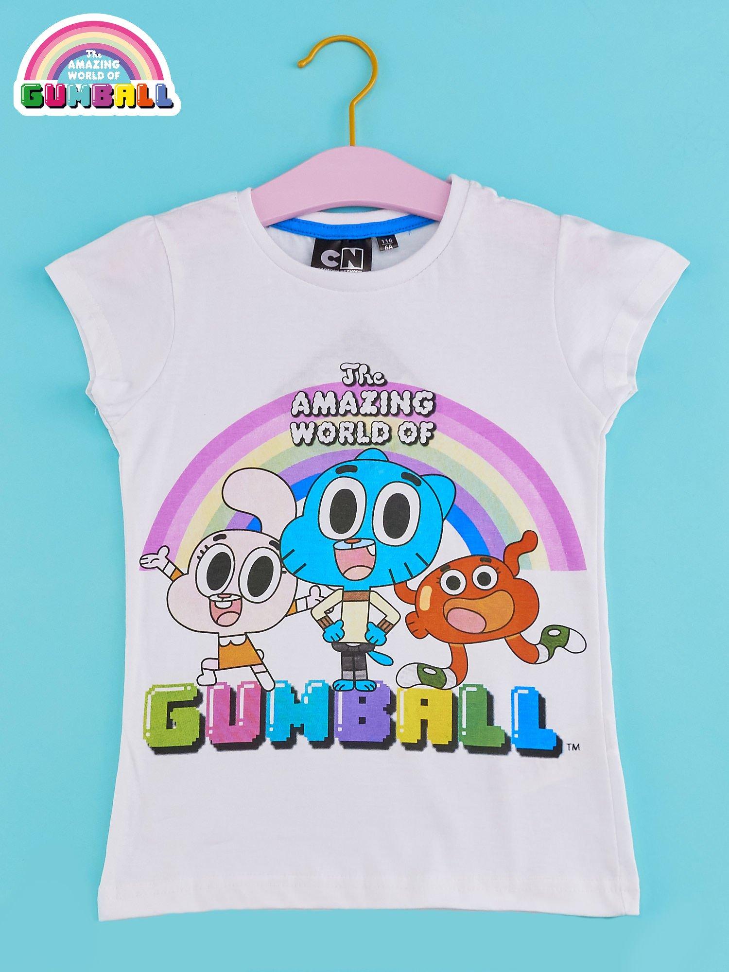 Biały t-shirt chłopięcy GUMBALL                                  zdj.                                  1