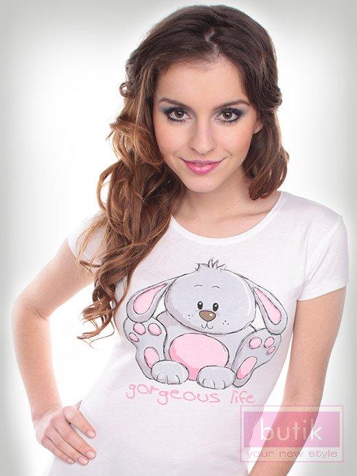 Bluzka z królikiem                                  zdj.                                  3
