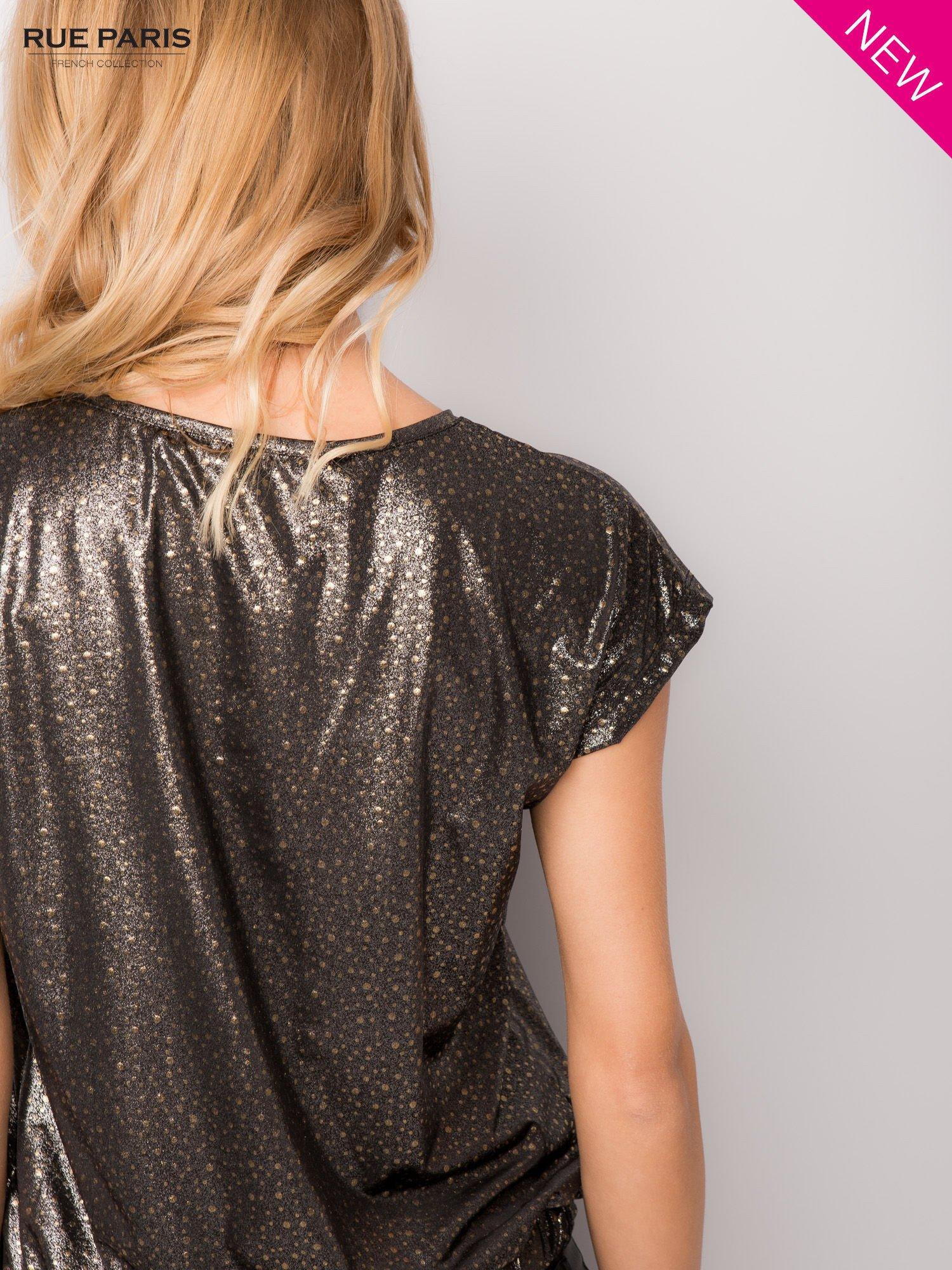 Błyszcząca bluzka w stylu disco                                  zdj.                                  6