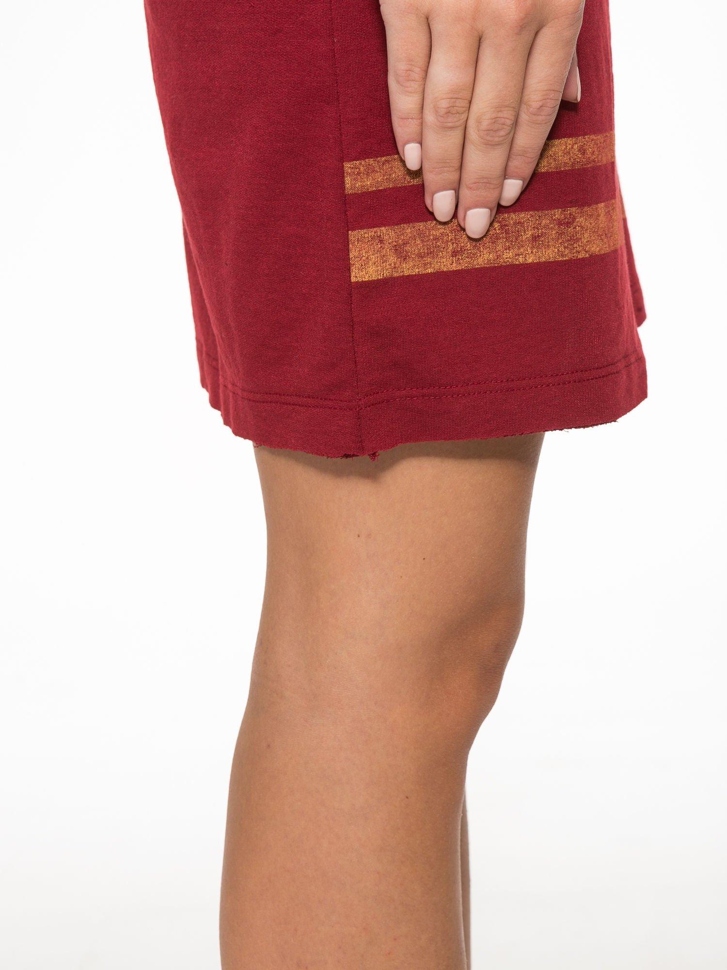 Borodowa bluzosukienka z nadrukiem NYC                                  zdj.                                  10