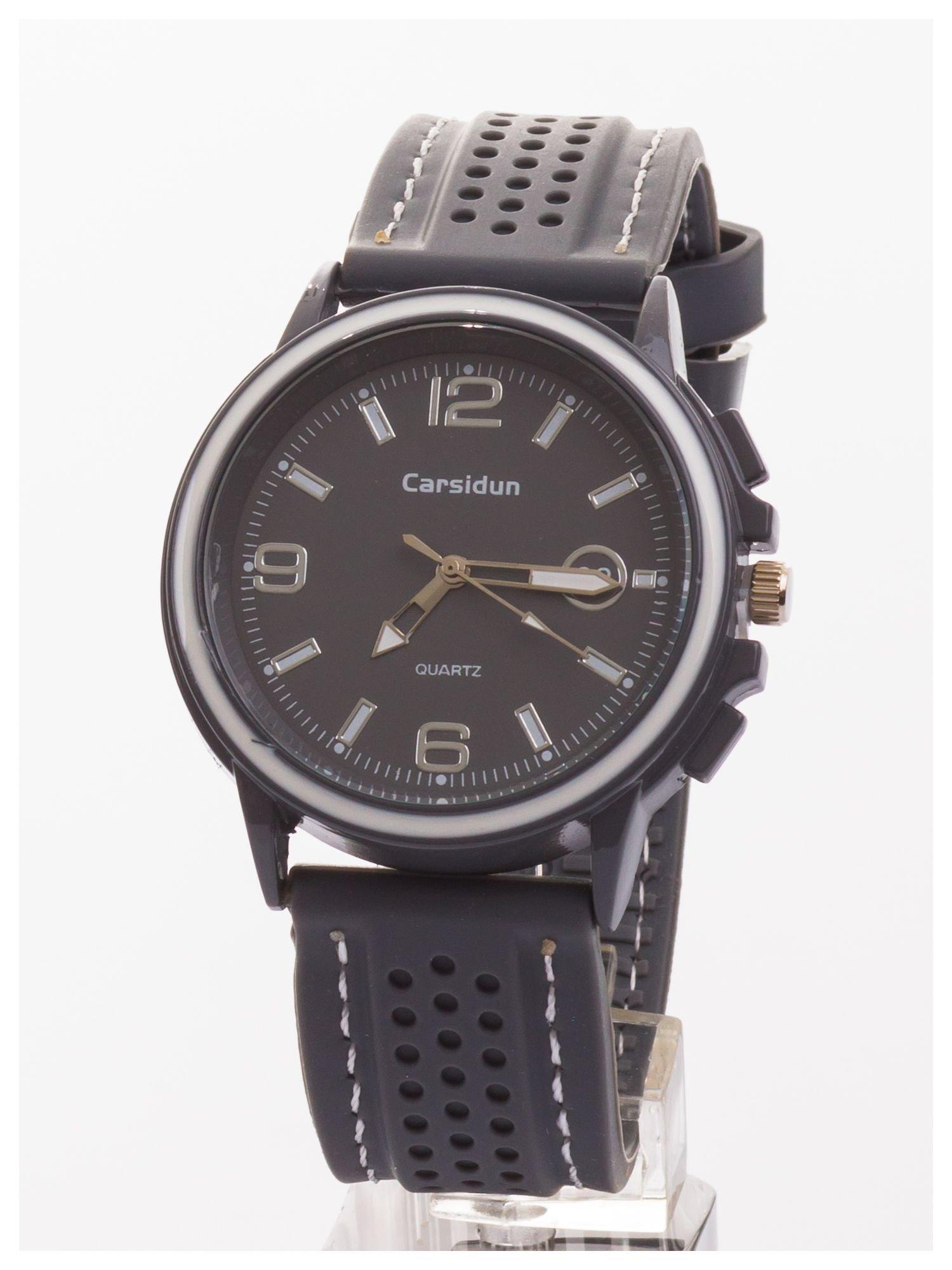 CARSIDUN Modny i wygodny męski zegarek z silikonowym paskiem                                  zdj.                                  1