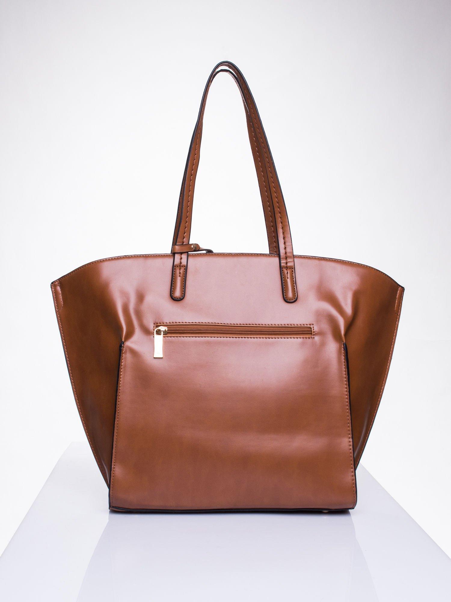 Camelowa torba z doczepianą saszetką                                  zdj.                                  2
