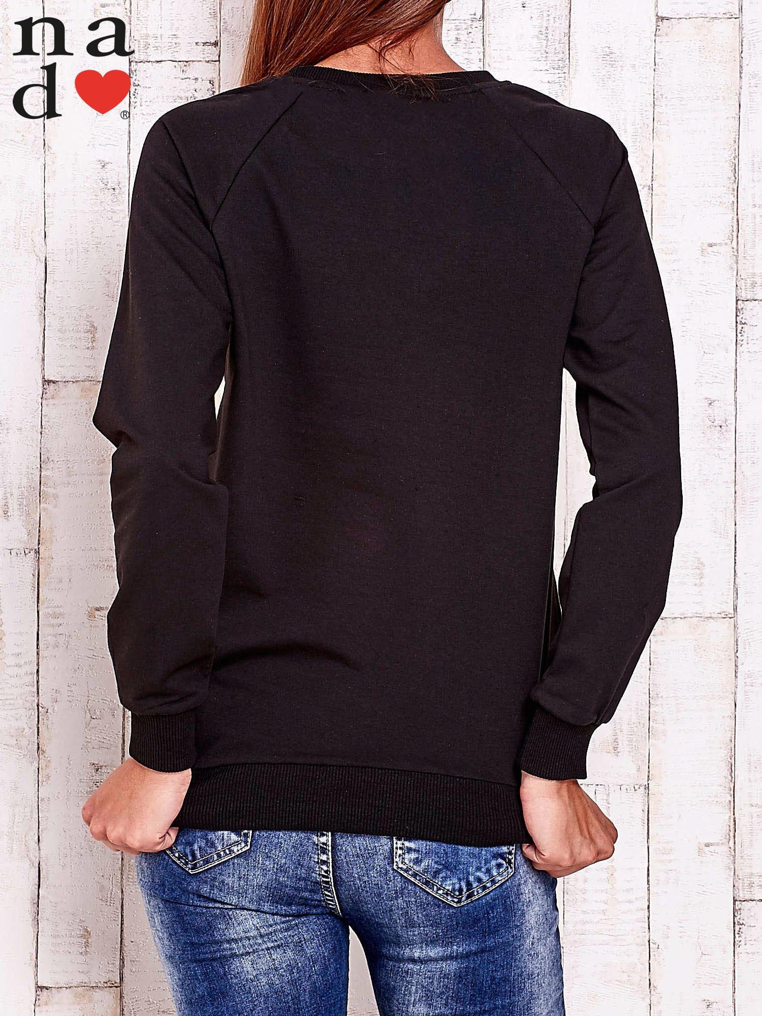 Czarna bluza z gwiazdą                                  zdj.                                  4