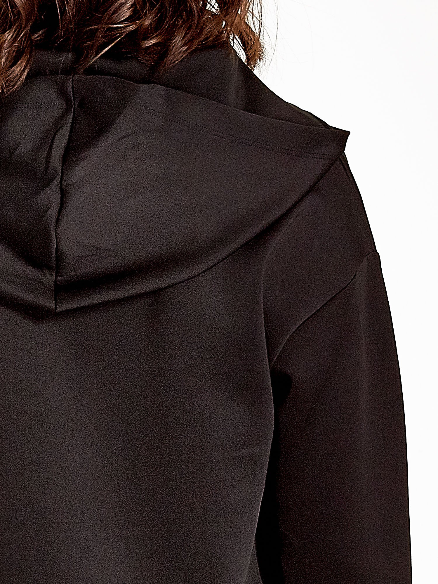 Czarna bluza z nadrukiem NEW YORK                                  zdj.                                  7