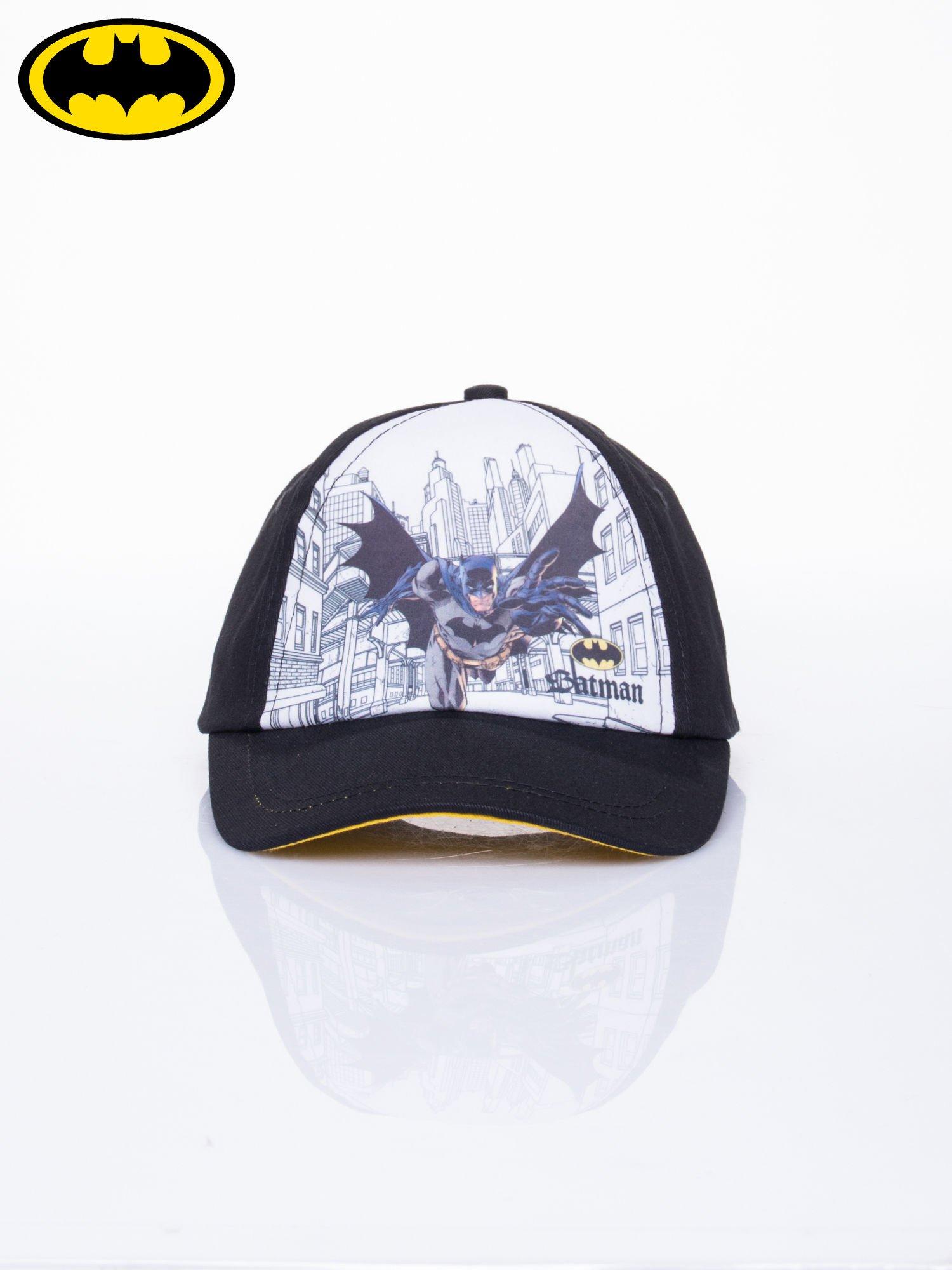 Czarna chłopięca czapka z daszkiem BATMAN                                  zdj.                                  1