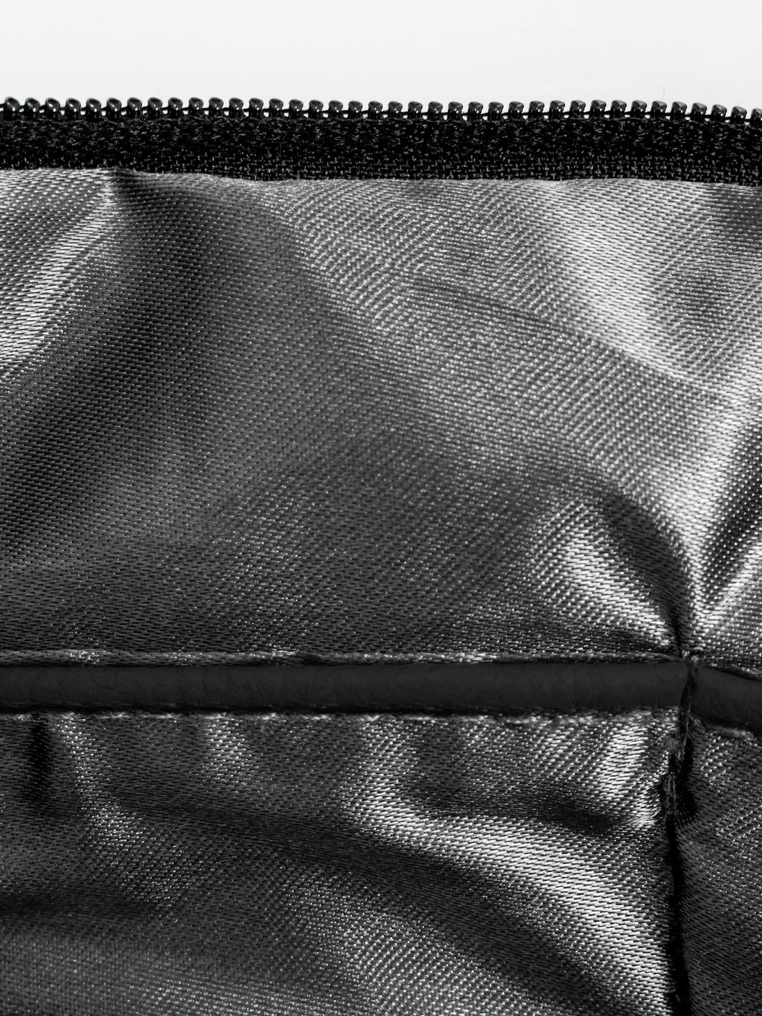 Czarna kopertówka z dżetami napis LUCY WORLD                                  zdj.                                  8