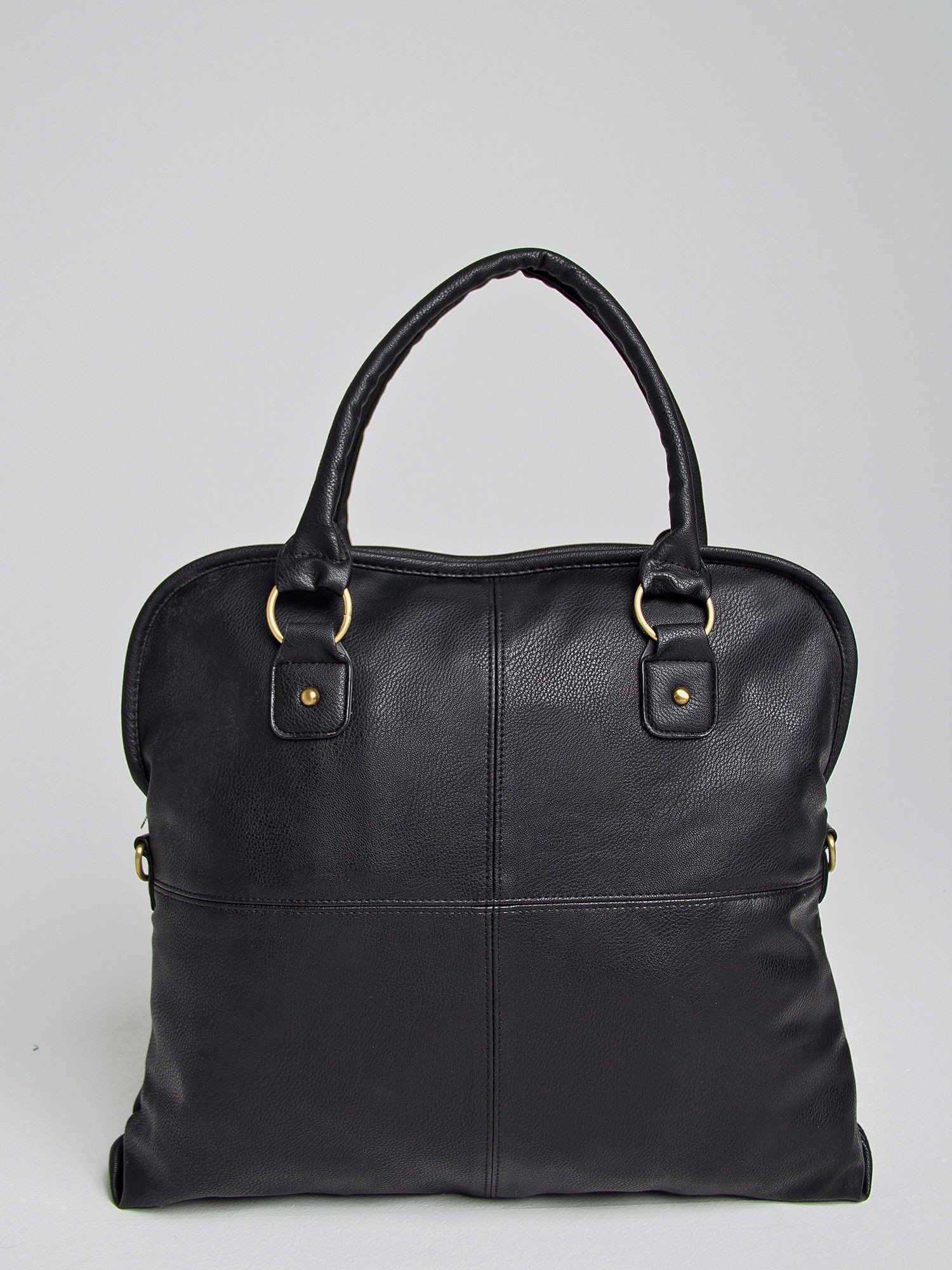 Czarna torba miejska na ramię                                  zdj.                                  1