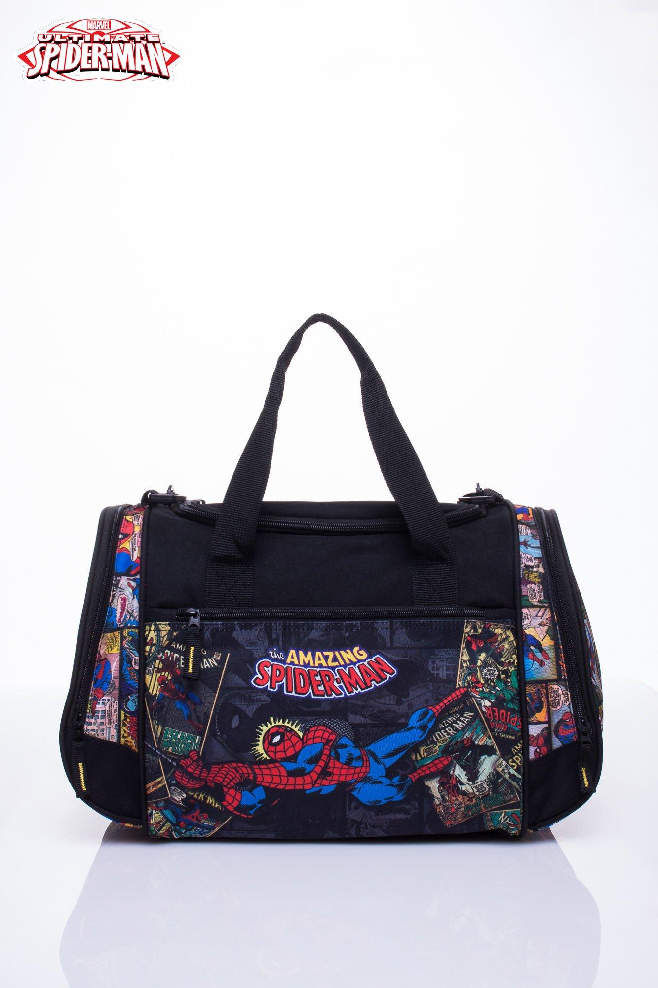Czarna torba sportowa MARVEL SpiderMan                                  zdj.                                  5