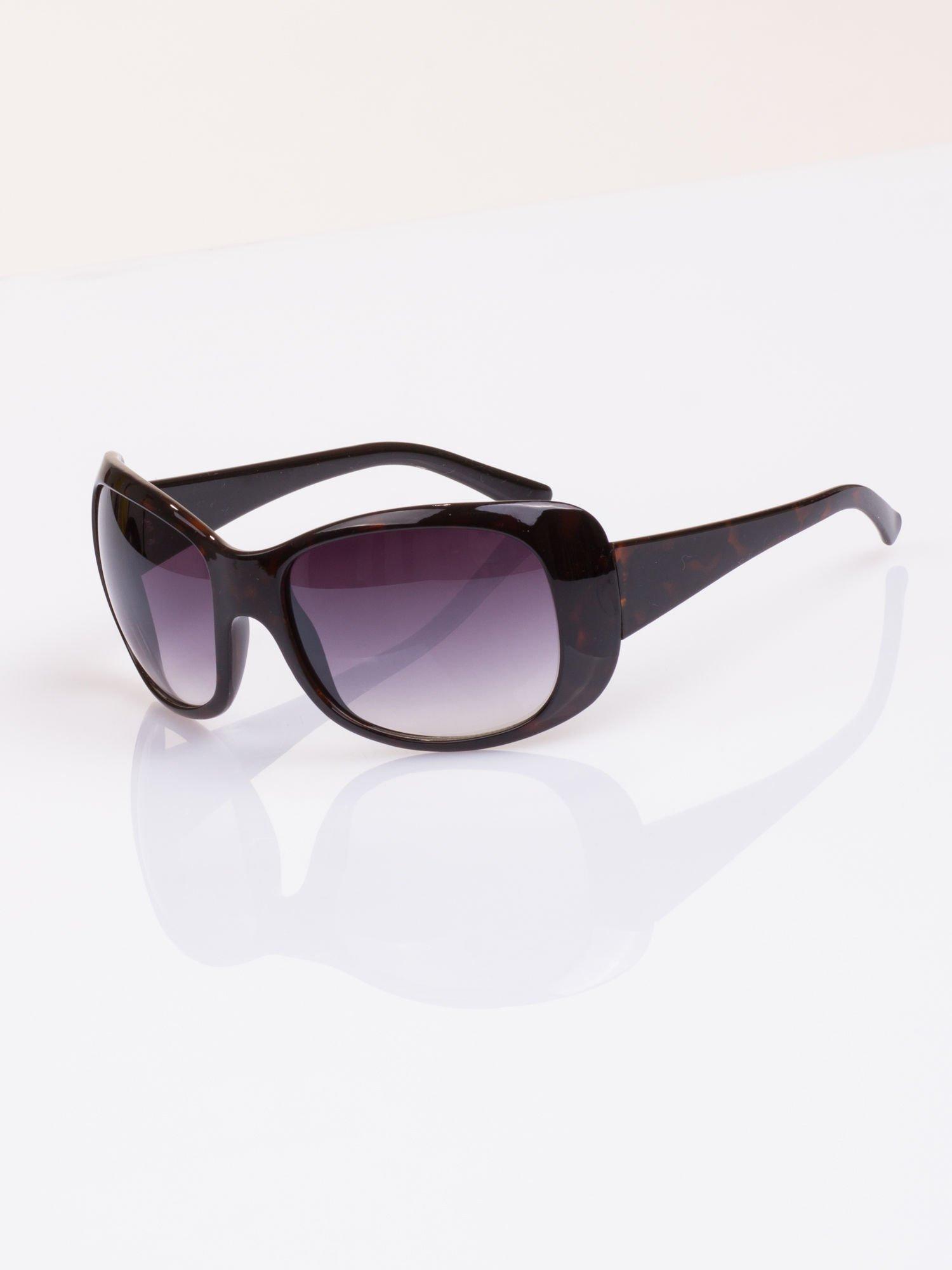 """Czarne damskie okulary """"muchy""""                                  zdj.                                  1"""