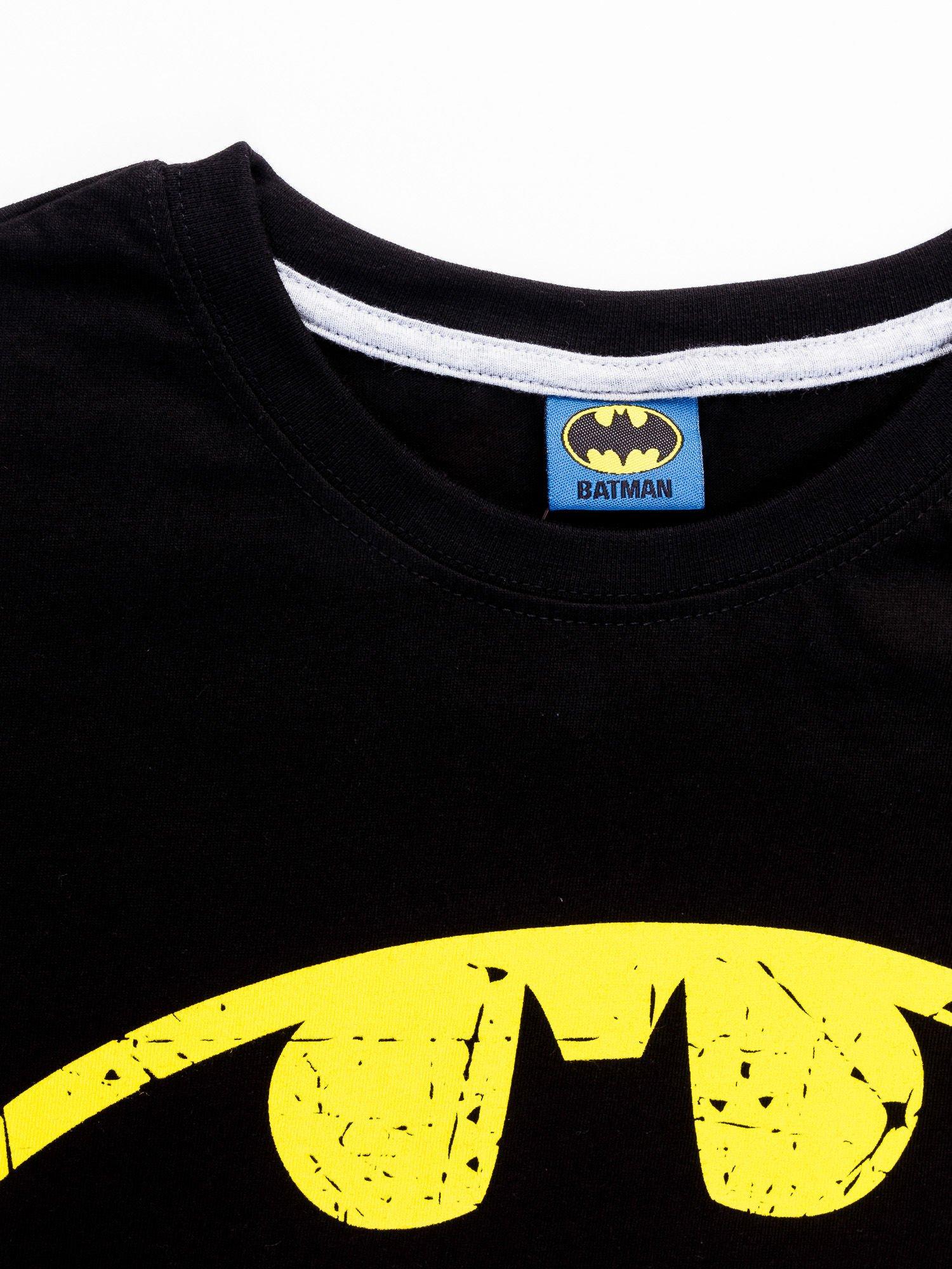 Czarny t-shirt męski BATMAN                                  zdj.                                  12