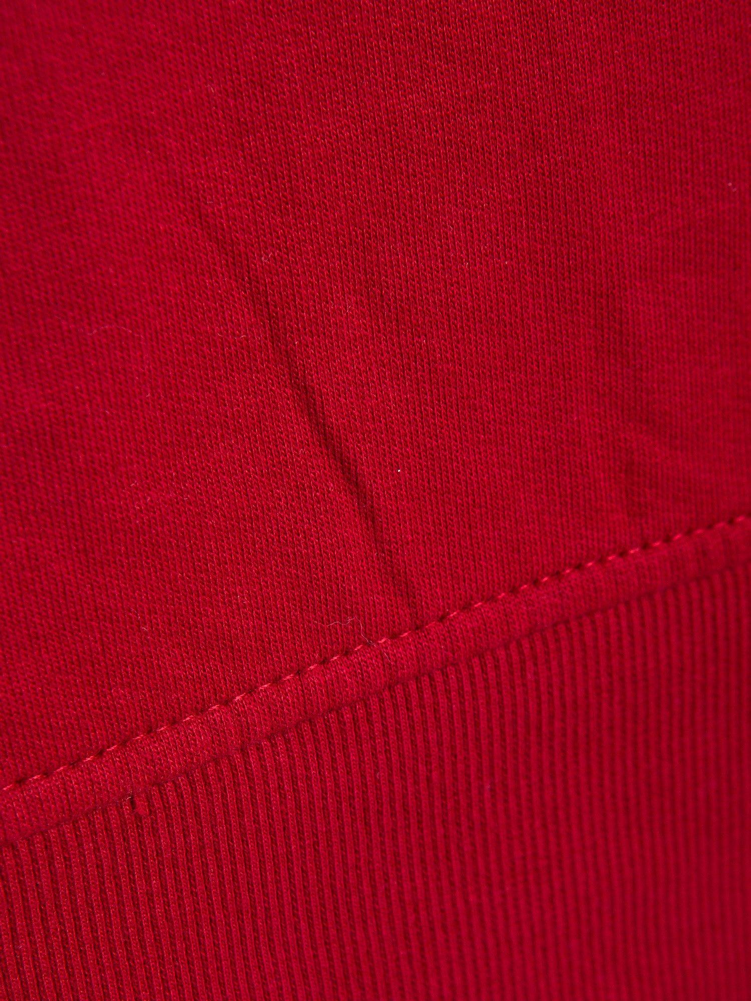 Czerwona bluza z numerem w stylu collage                                  zdj.                                  5