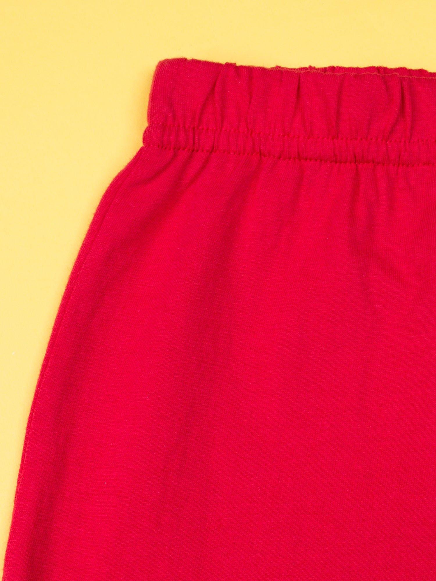 Czerwona piżama dla dziewczynki MY LITTLE PONY                                  zdj.                                  9