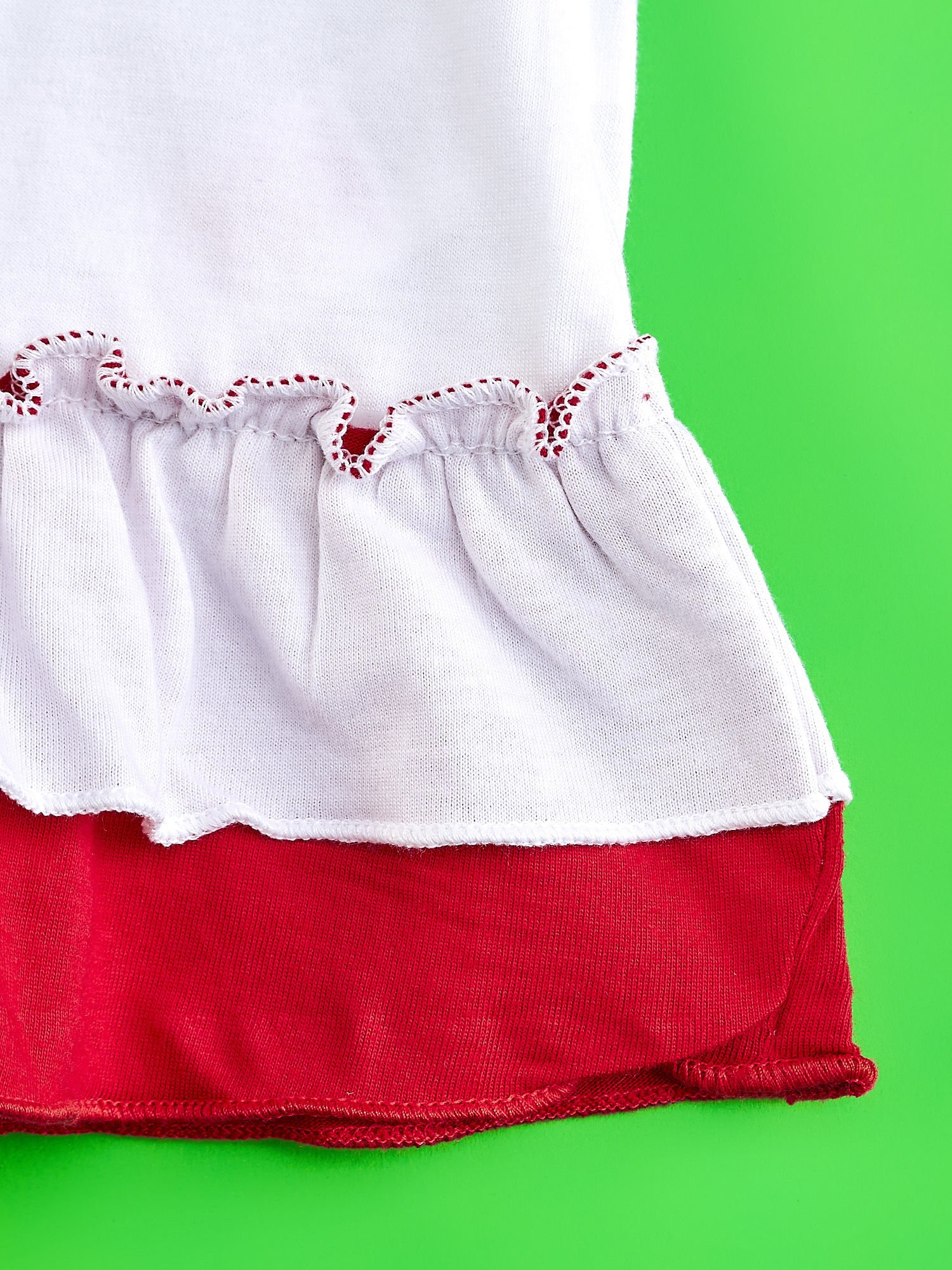 Czerwona tunika dla dziewczynki z motywem MINNIE MOUSE                                  zdj.                                  5