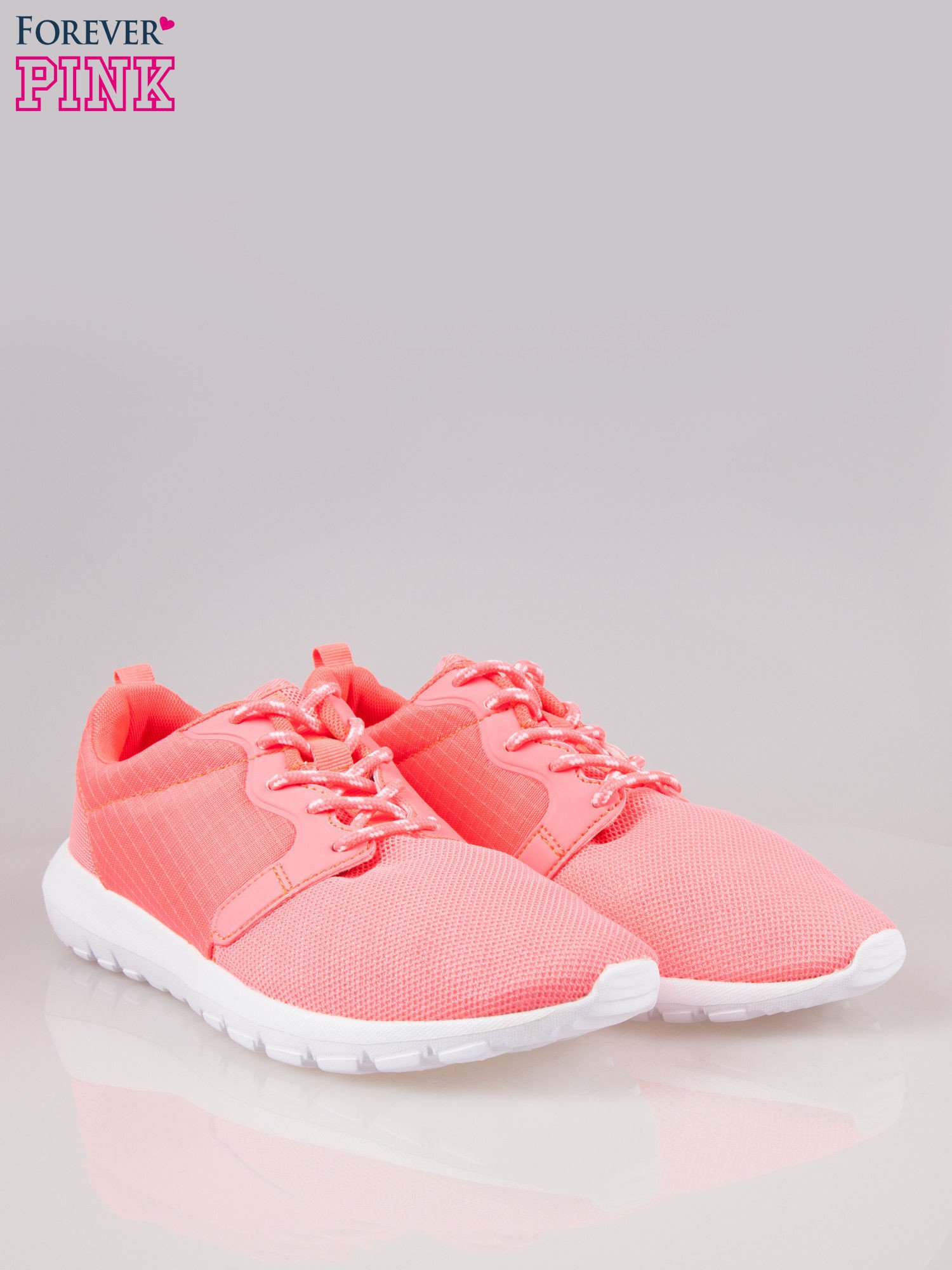 Czerwone buty sportowe eco leather On Fire                                  zdj.                                  2
