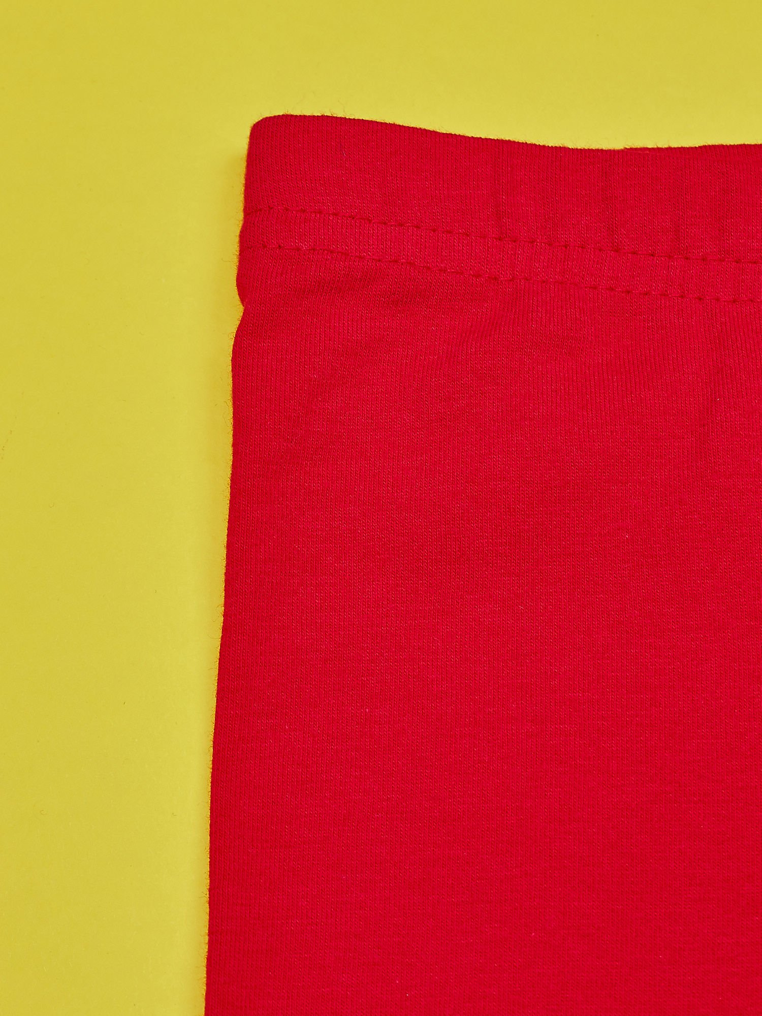 Czerwone legginsy dla dziewczynki z nadrukiem MY LITTLE PONY                                  zdj.                                  4