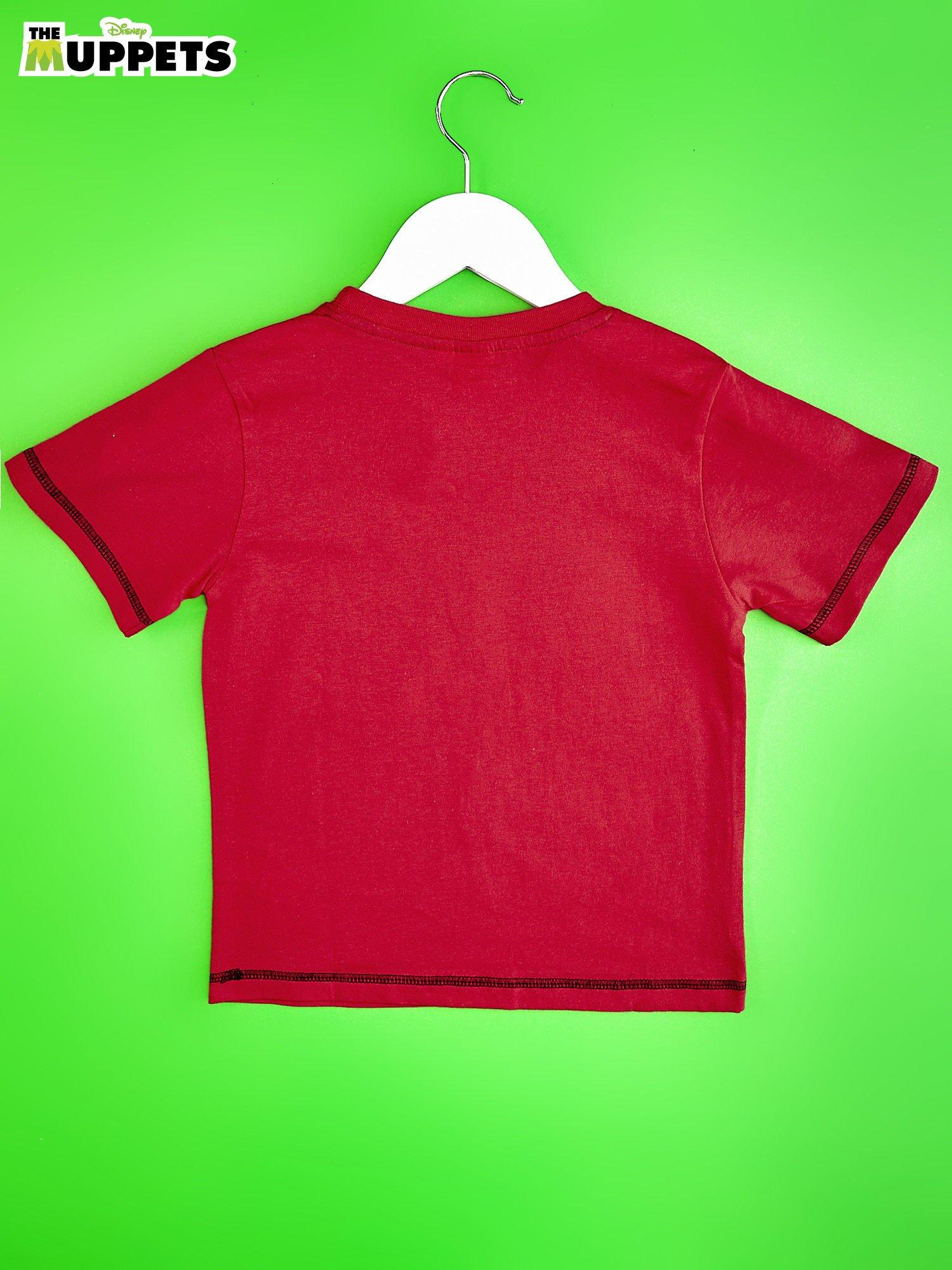 Czerwony chłopięcy t-shirt MUPPETY