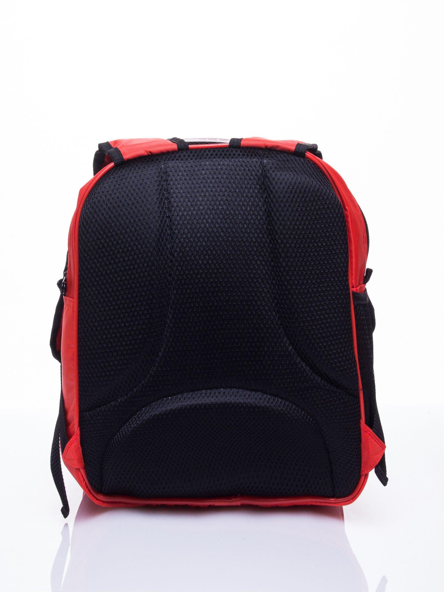 Czerwony plecak szkolny PIXAR Auta                                  zdj.                                  5
