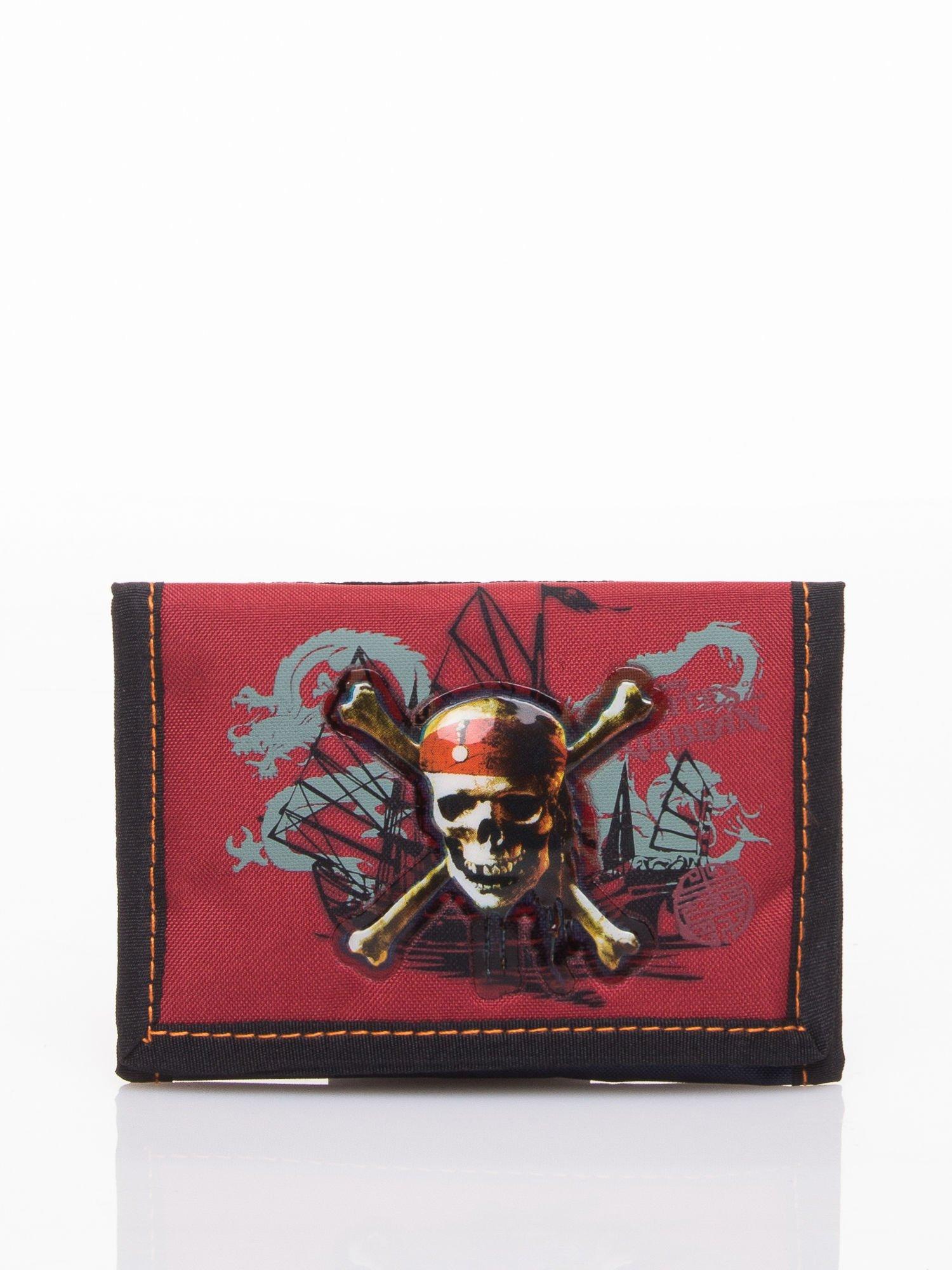 Czerwony portfel chłopięcy DISNEY Piraci z Karaibów                                  zdj.                                  1