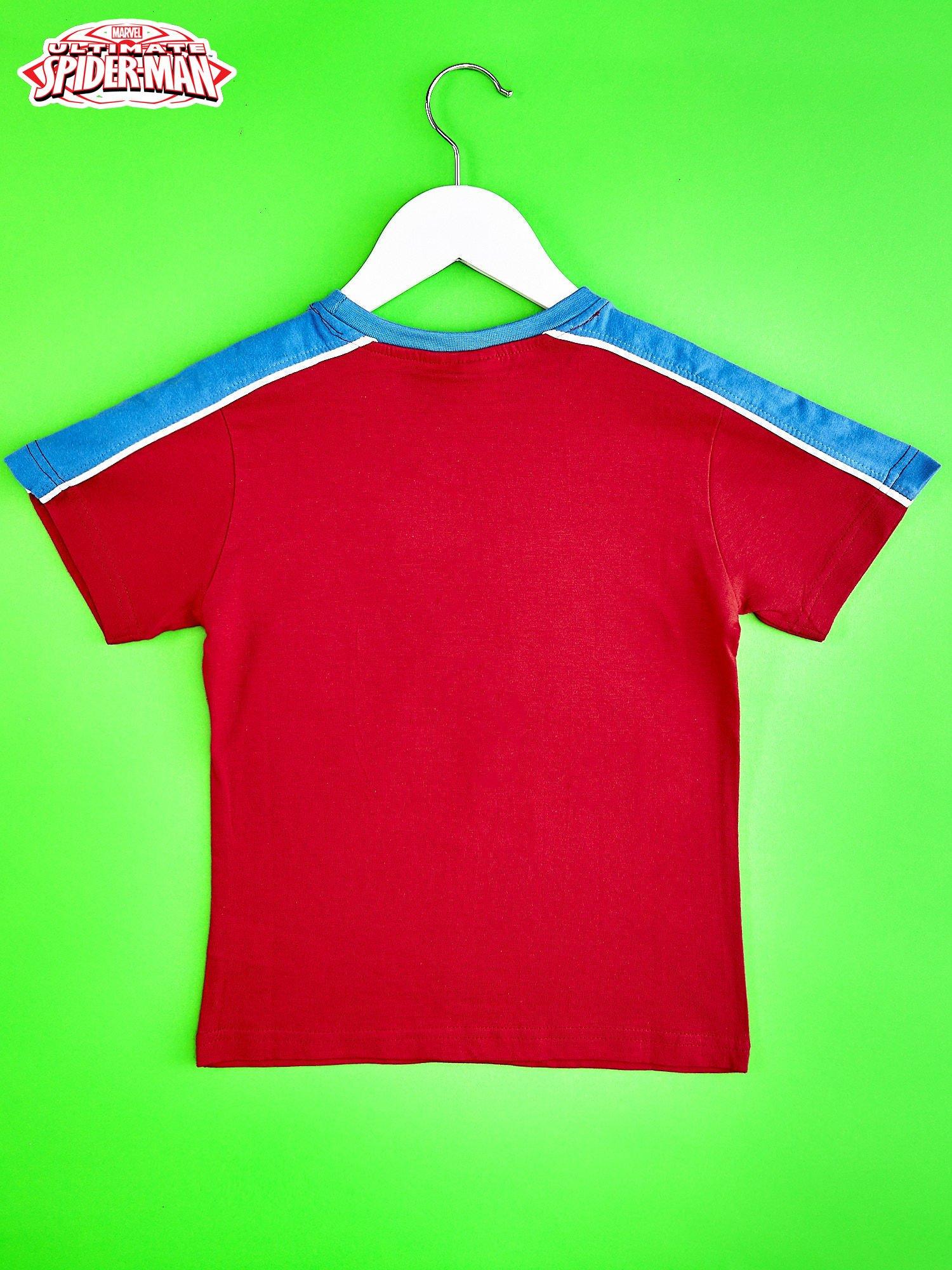 Czerwony t-shirt chłopięcy SPIDERMAN                                  zdj.                                  2