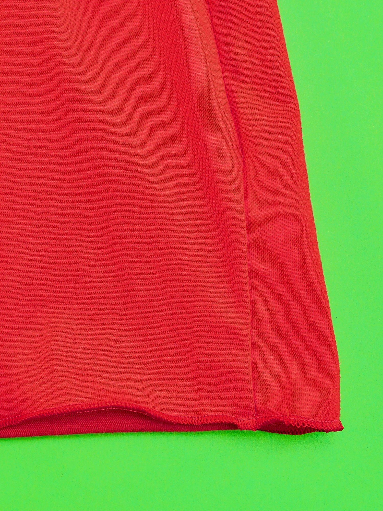 Czerwony t-shirt dla dziewczynki ŚWINKA PEPPA                                  zdj.                                  5