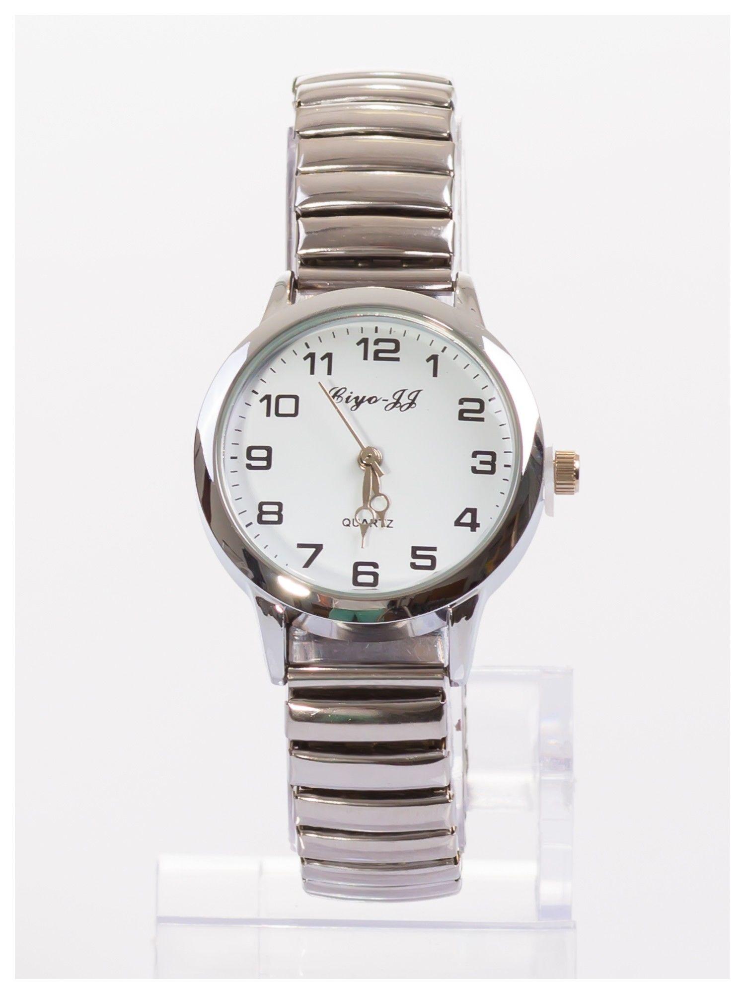 Damski zegarek na elastycznej bransolecie Bardzo kobiecy. Mała tarcza. Delikatny.                                  zdj.                                  1