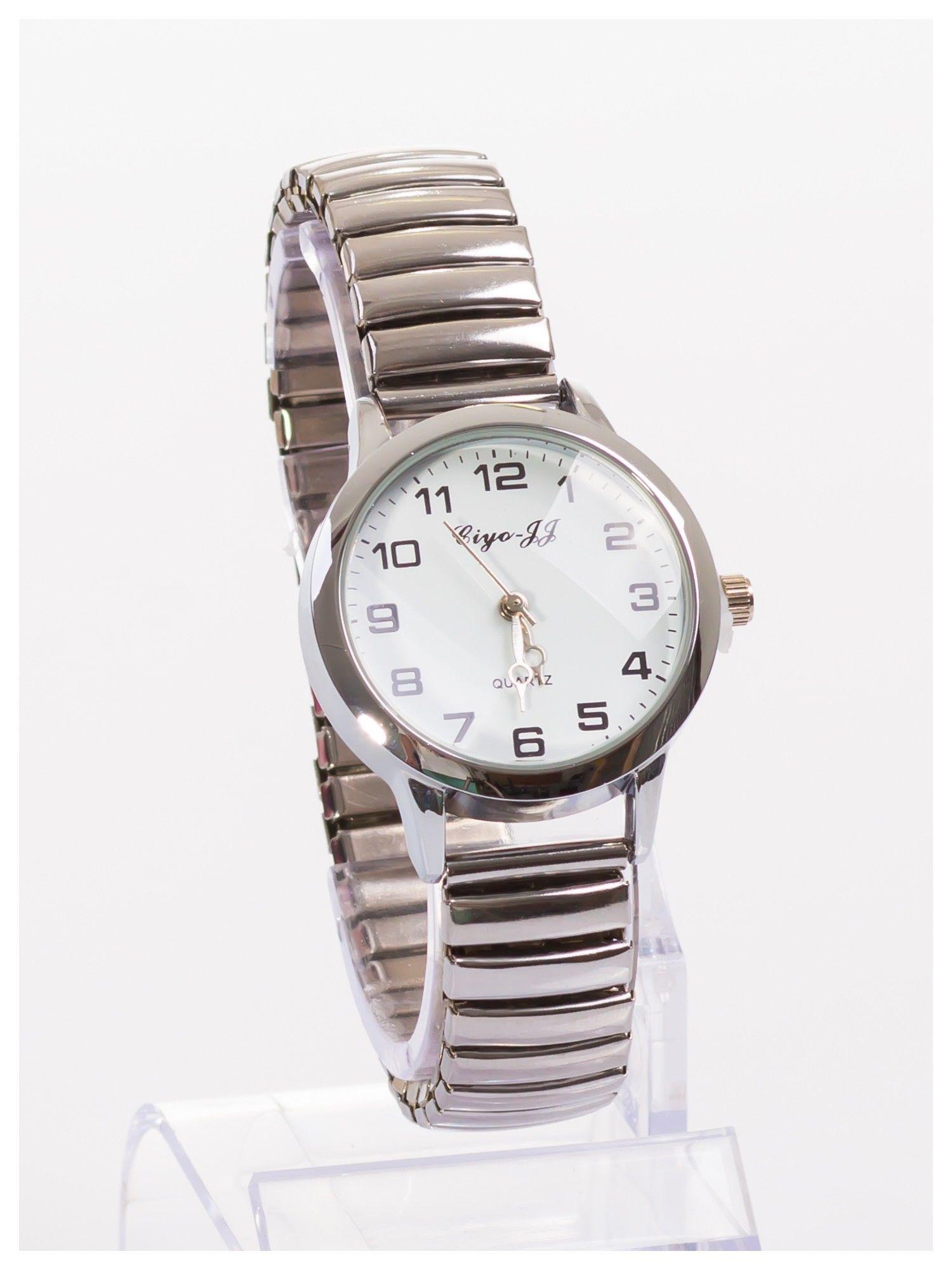 Damski zegarek na elastycznej bransolecie Bardzo kobiecy. Mała tarcza. Delikatny.                                  zdj.                                  3