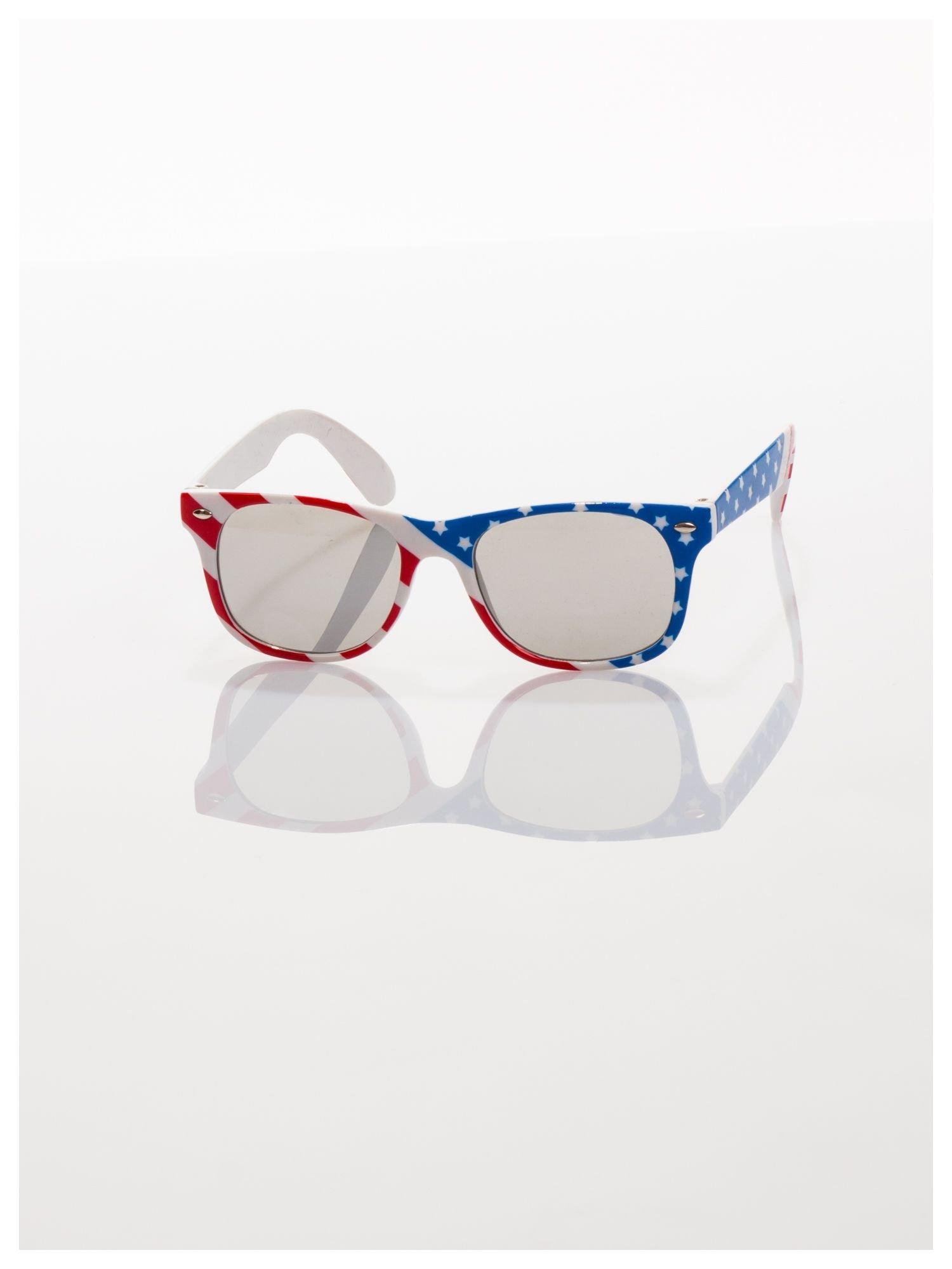 Dziecięce okulary z klasyczną oprawką WAYFARER NERD z filtrami odporne na wyginania                                  zdj.                                  2