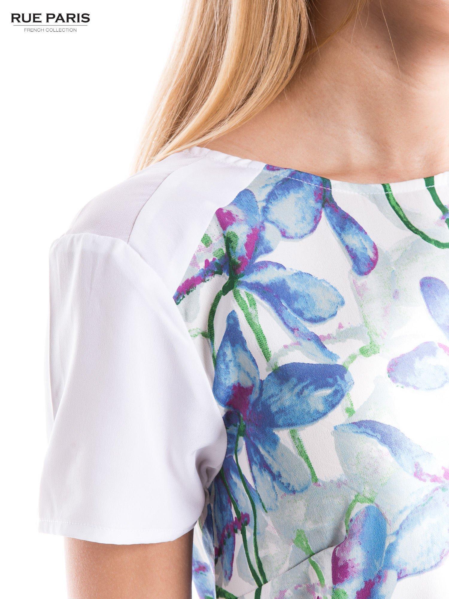 Elegancka koszula w kwiaty                                  zdj.                                  4