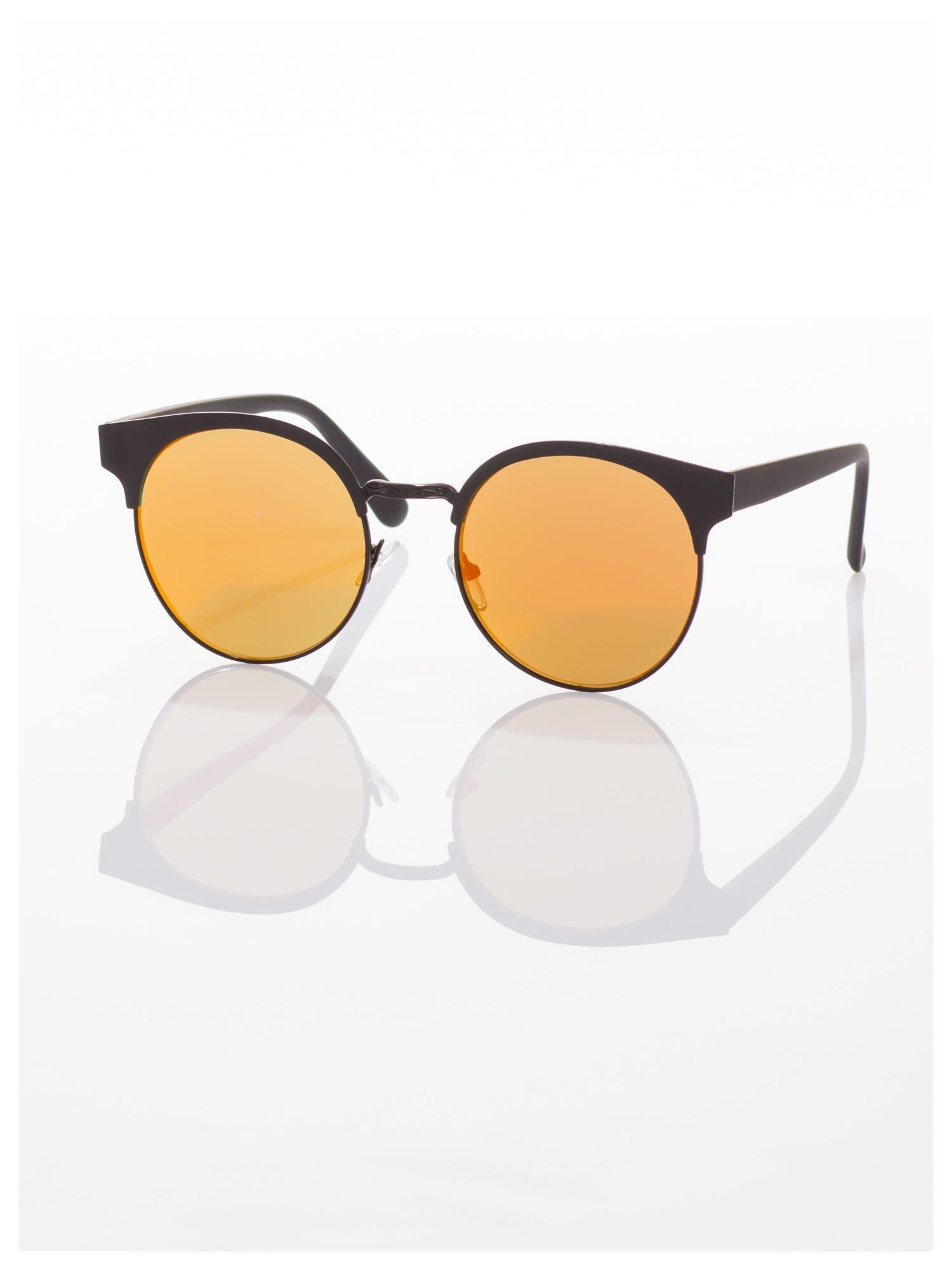 FASHION okulary przeciwsłoneczne KOCIE OCZY VINTAGE                                  zdj.                                  3