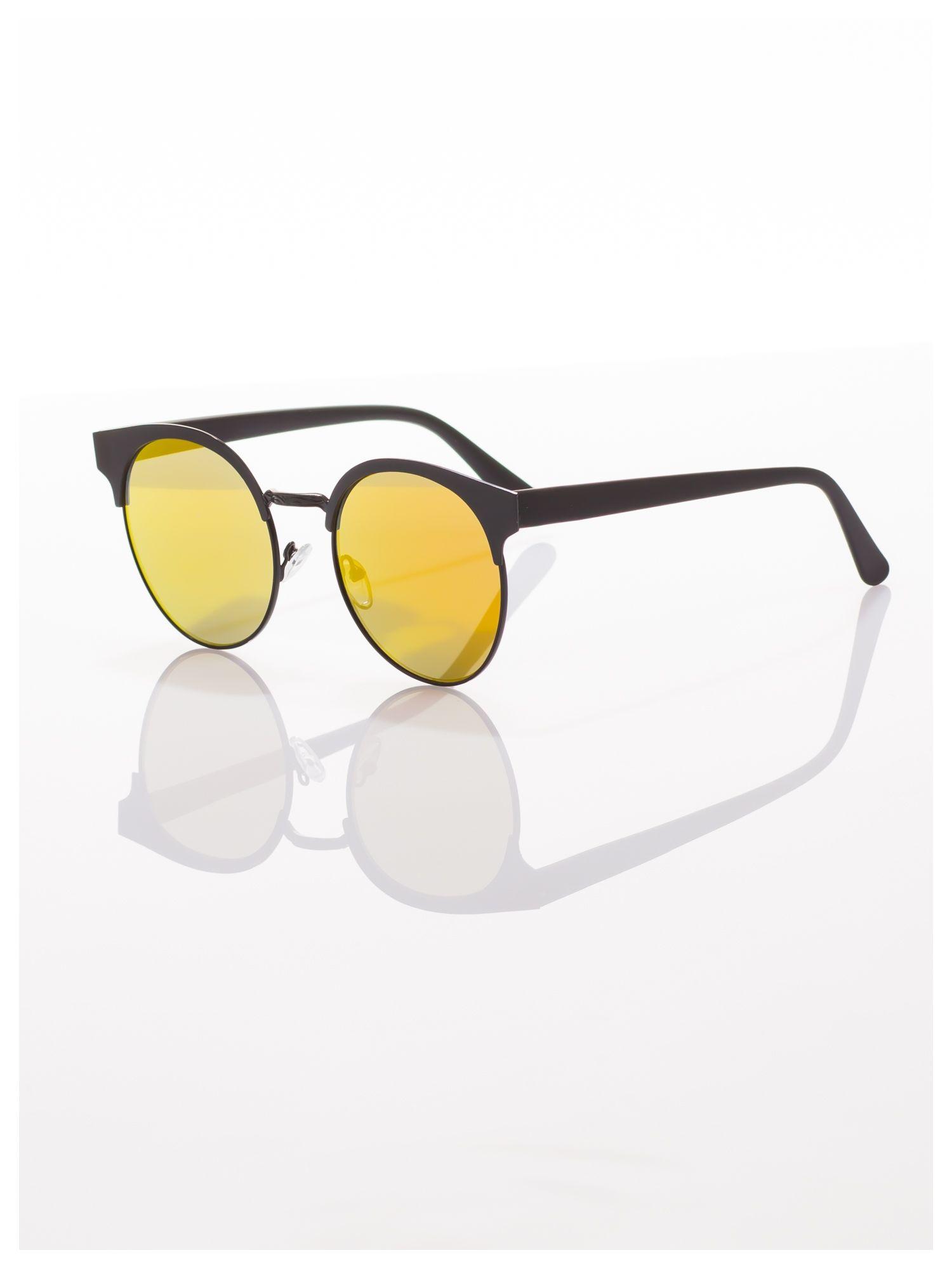FASHION okulary przeciwsłoneczne KOCIE OCZY VINTAGE                                  zdj.                                  2