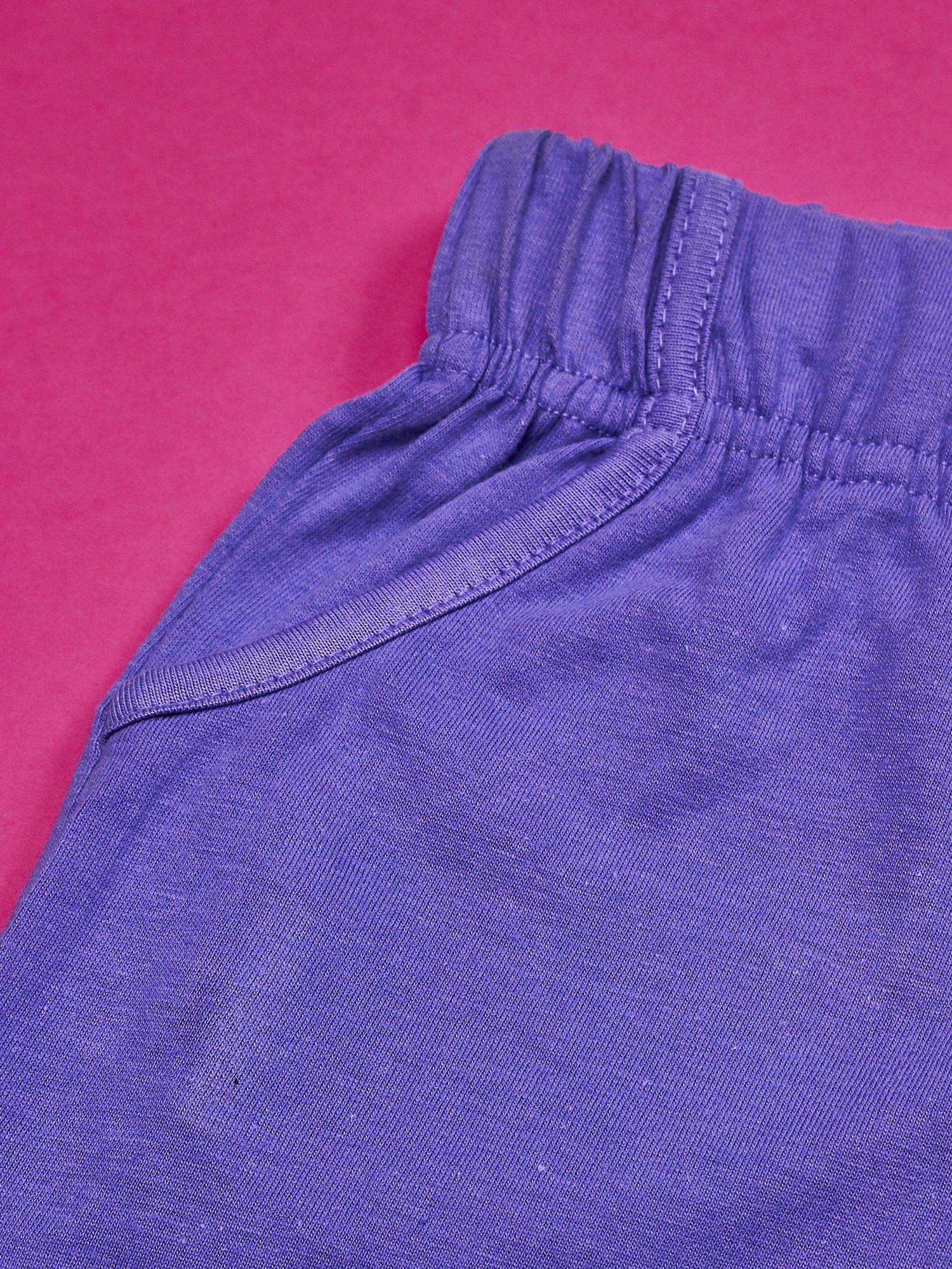 Fioletowe szorty dla dziewczynki z różowym nadrukiem MY LITTLE PONY                                  zdj.                                  4
