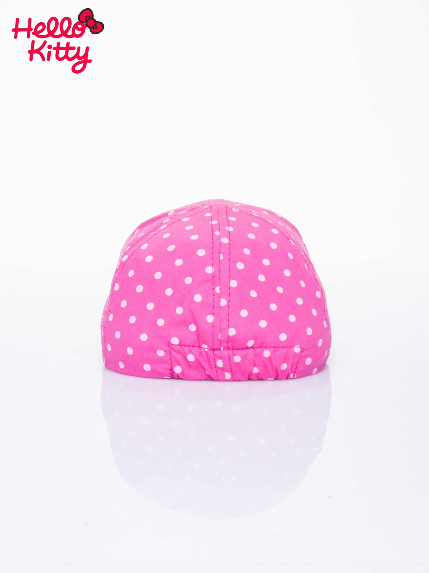 Fuksjowa czapka z daszkiem dla dziewczynki HELLO KITTY                                  zdj.                                  3