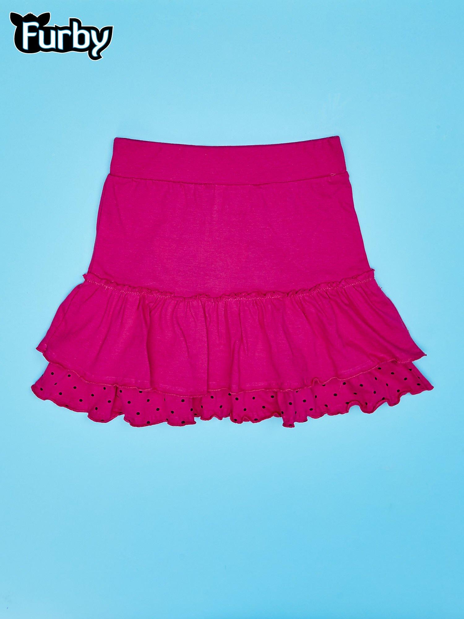 Fuksjowa spódnica dla dziewczynki FURBY                                  zdj.                                  2