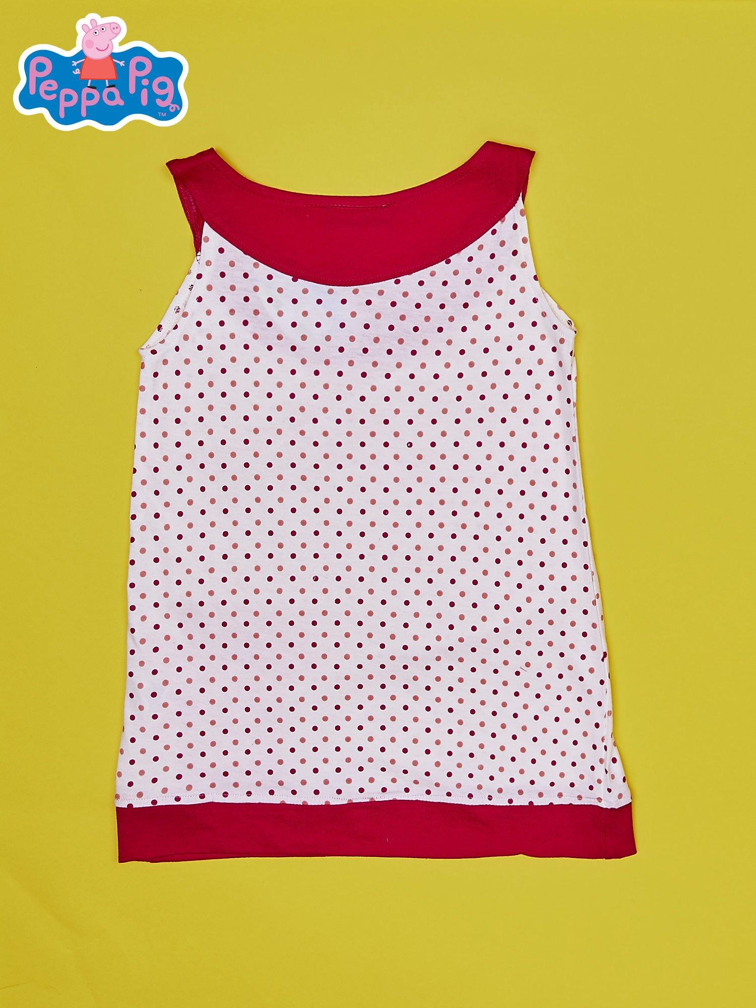 Fuksjowa sukienka dla dziewczynki ŚWINKA PEPPA                                  zdj.                                  2