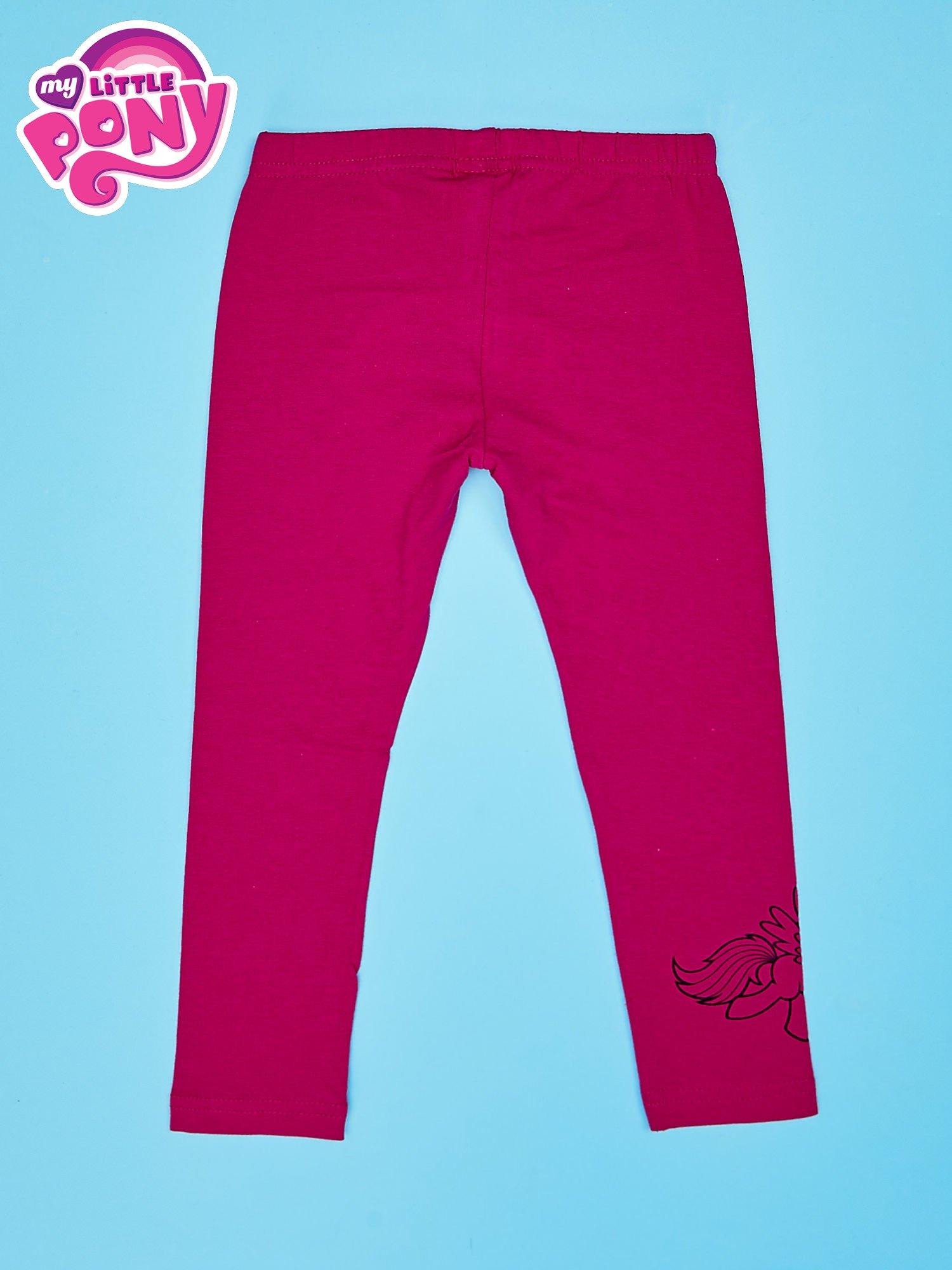 Fuksjowe legginsy dla dziewczynki MY LITTLE PONY                                  zdj.                                  2