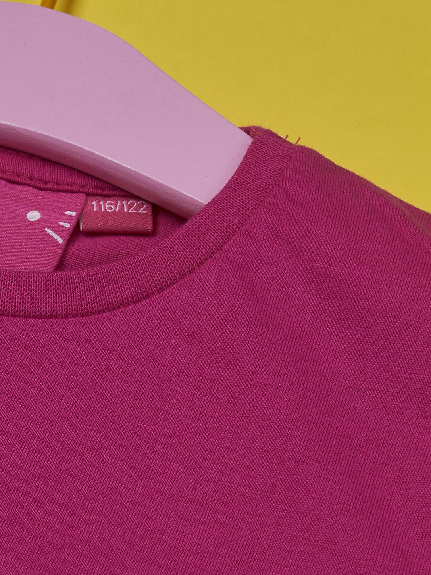 Fuksjowy t-shirt dla dziewczynki HELLO KITTY                                  zdj.                                  6