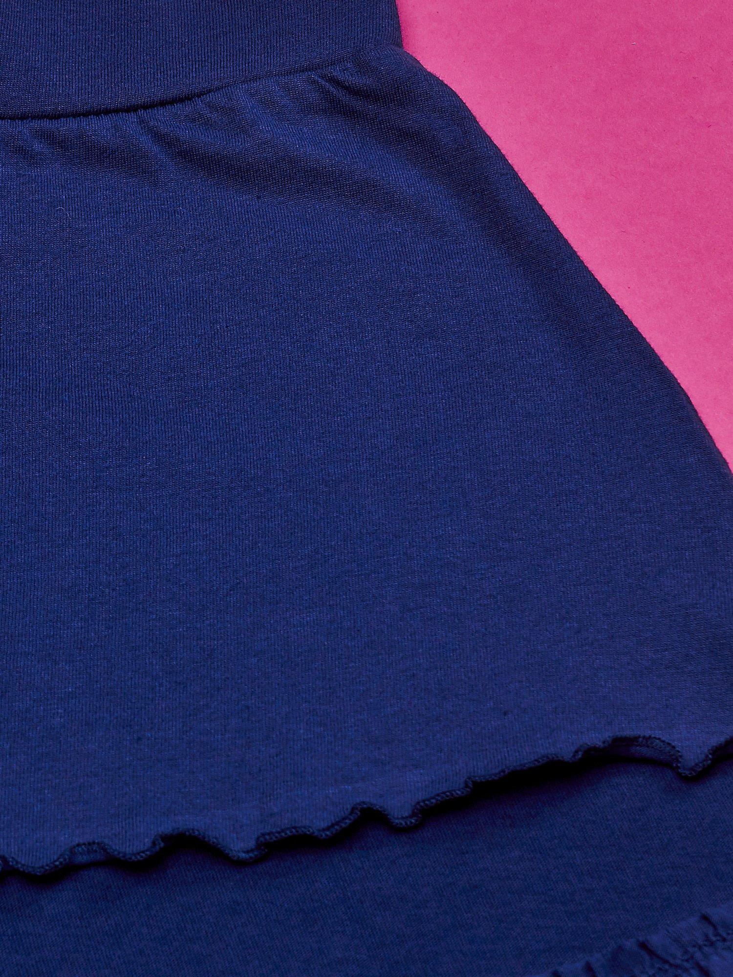 Granatowa spódnica dla dziewczynki MINNIE MOUSE                                  zdj.                                  4
