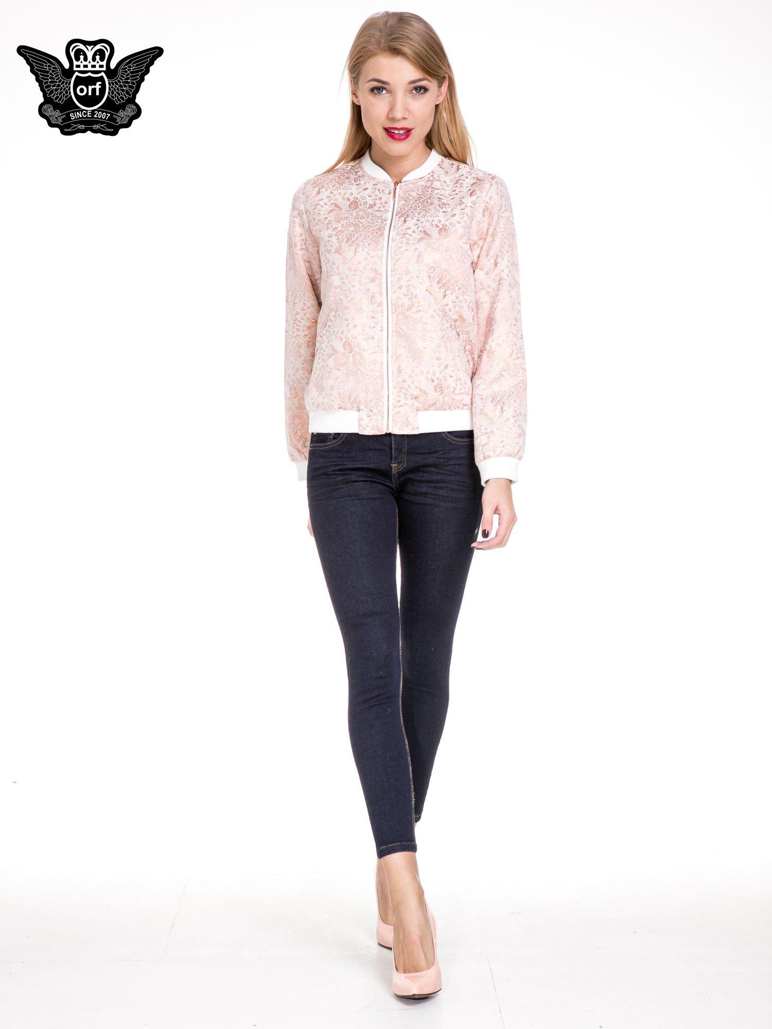 Granatowe spodnie super skinny jeans długości 7/8                                  zdj.                                  2