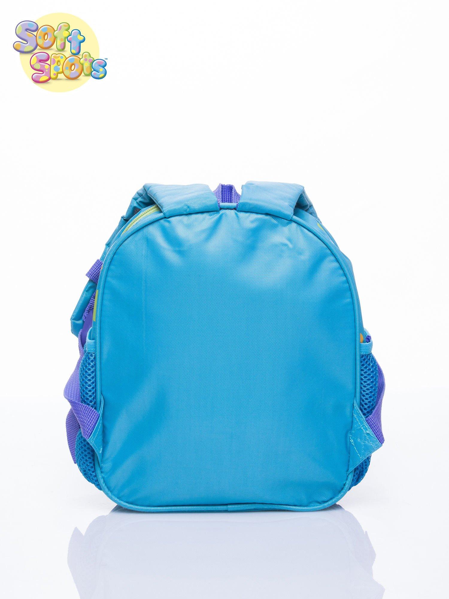 Niebieski plecak na wycieczkę DISNEY Soft Spots                                  zdj.                                  4