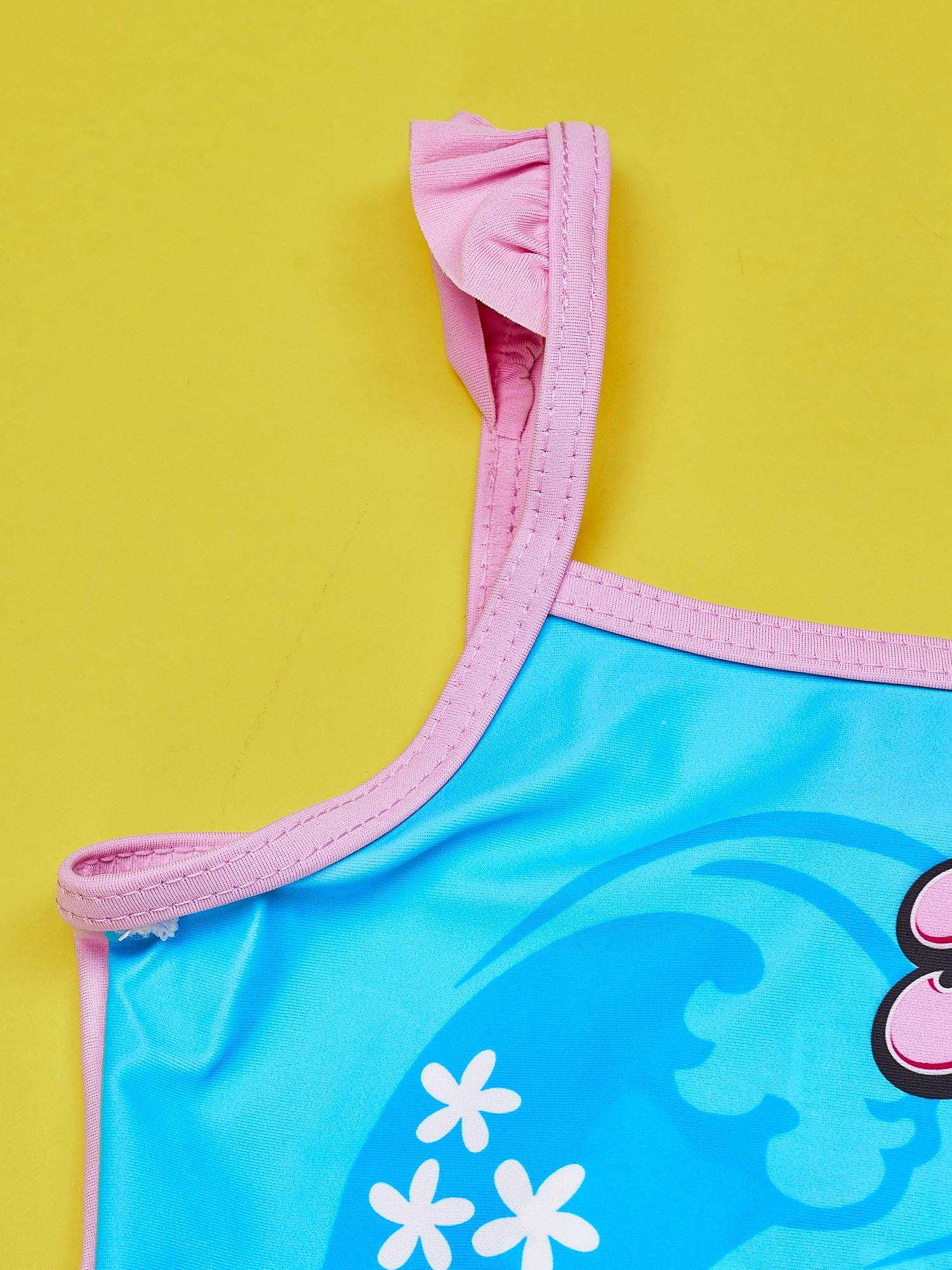 Niebieski strój kąpielowy dla dziewczynki HELLO KITTY                                  zdj.                                  3